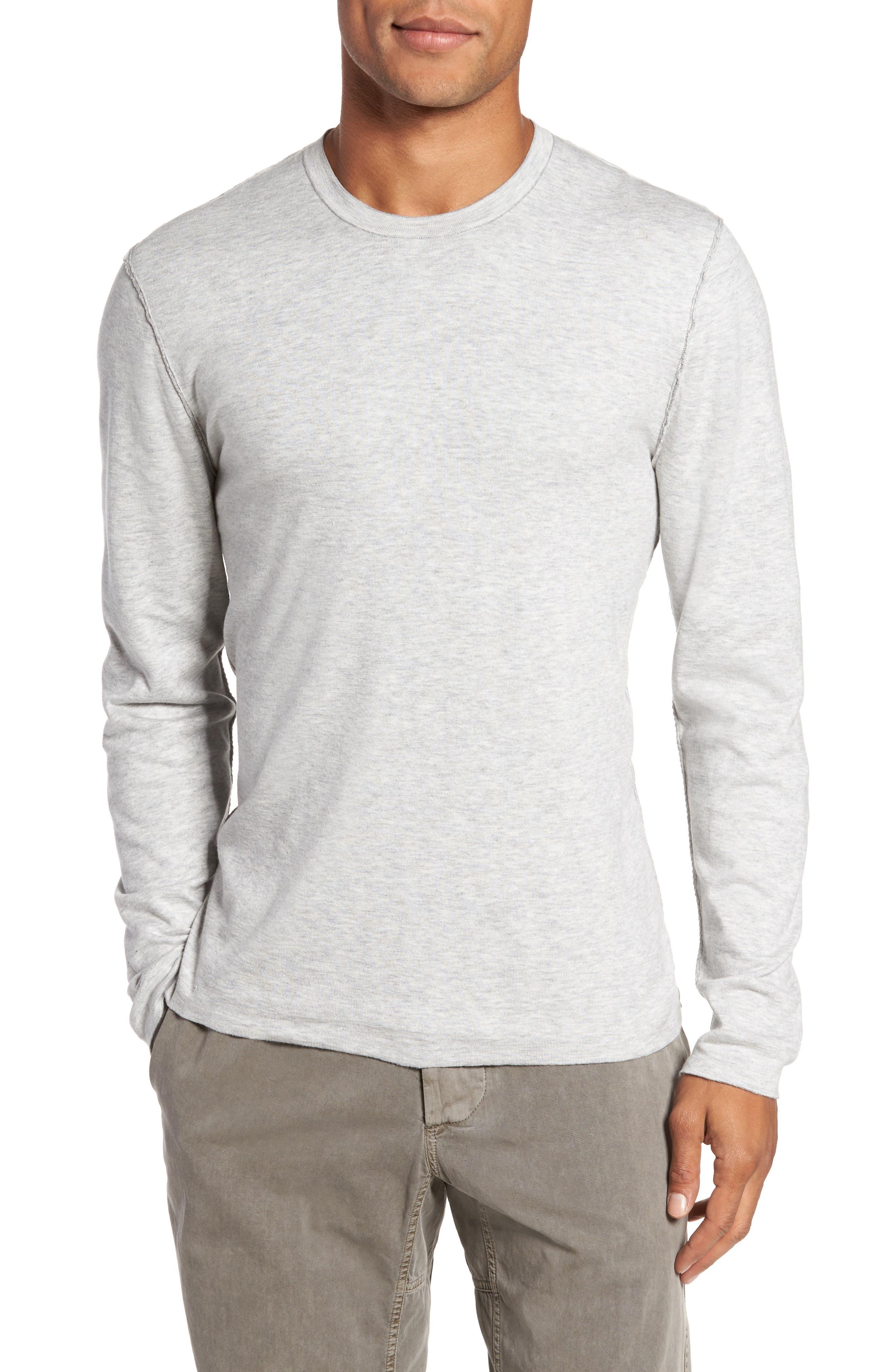 Reversible Long Sleeve T-Shirt,                             Alternate thumbnail 4, color,                             020