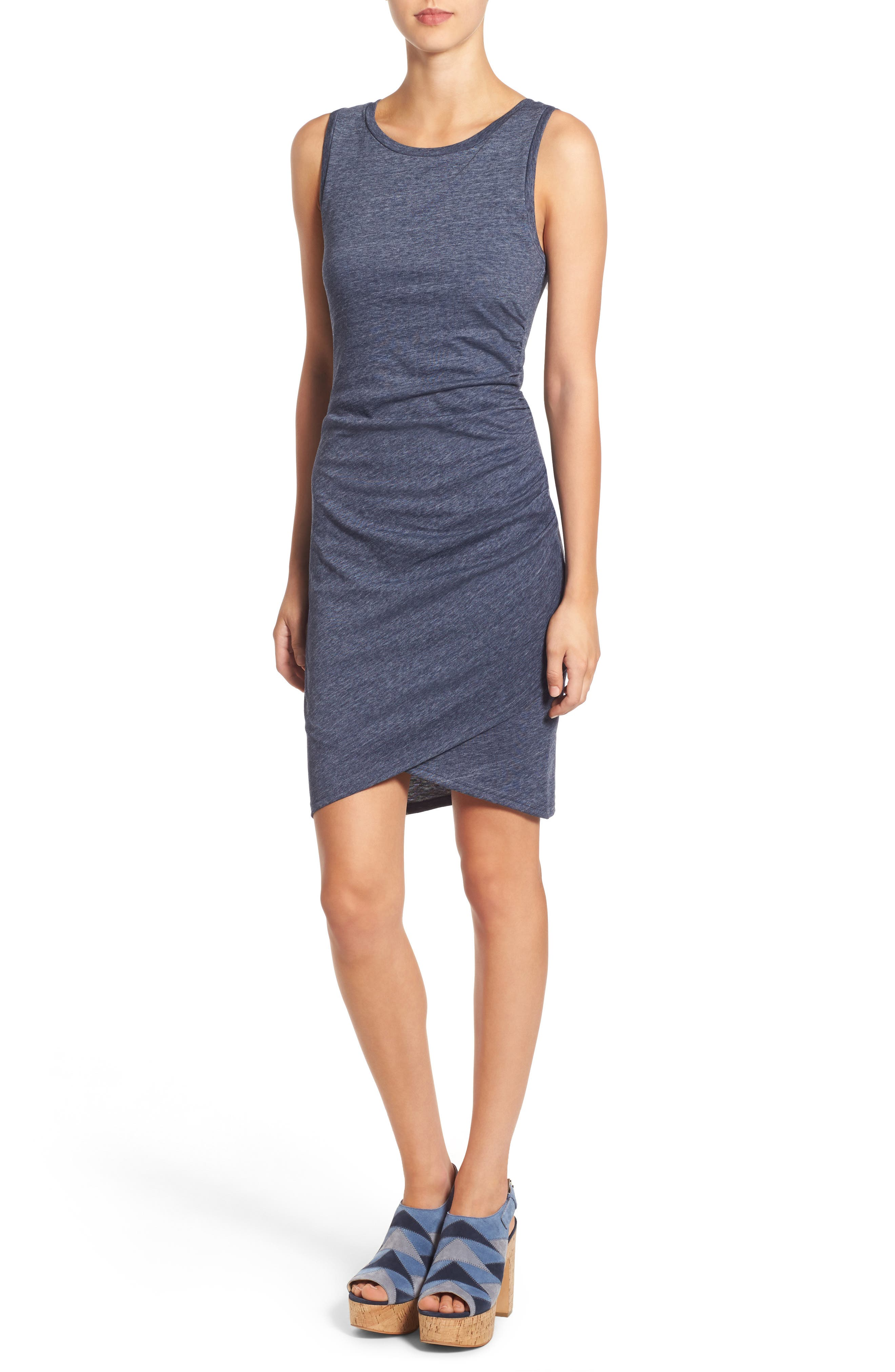 Ruched Body-Con Tank Dress,                             Alternate thumbnail 184, color,