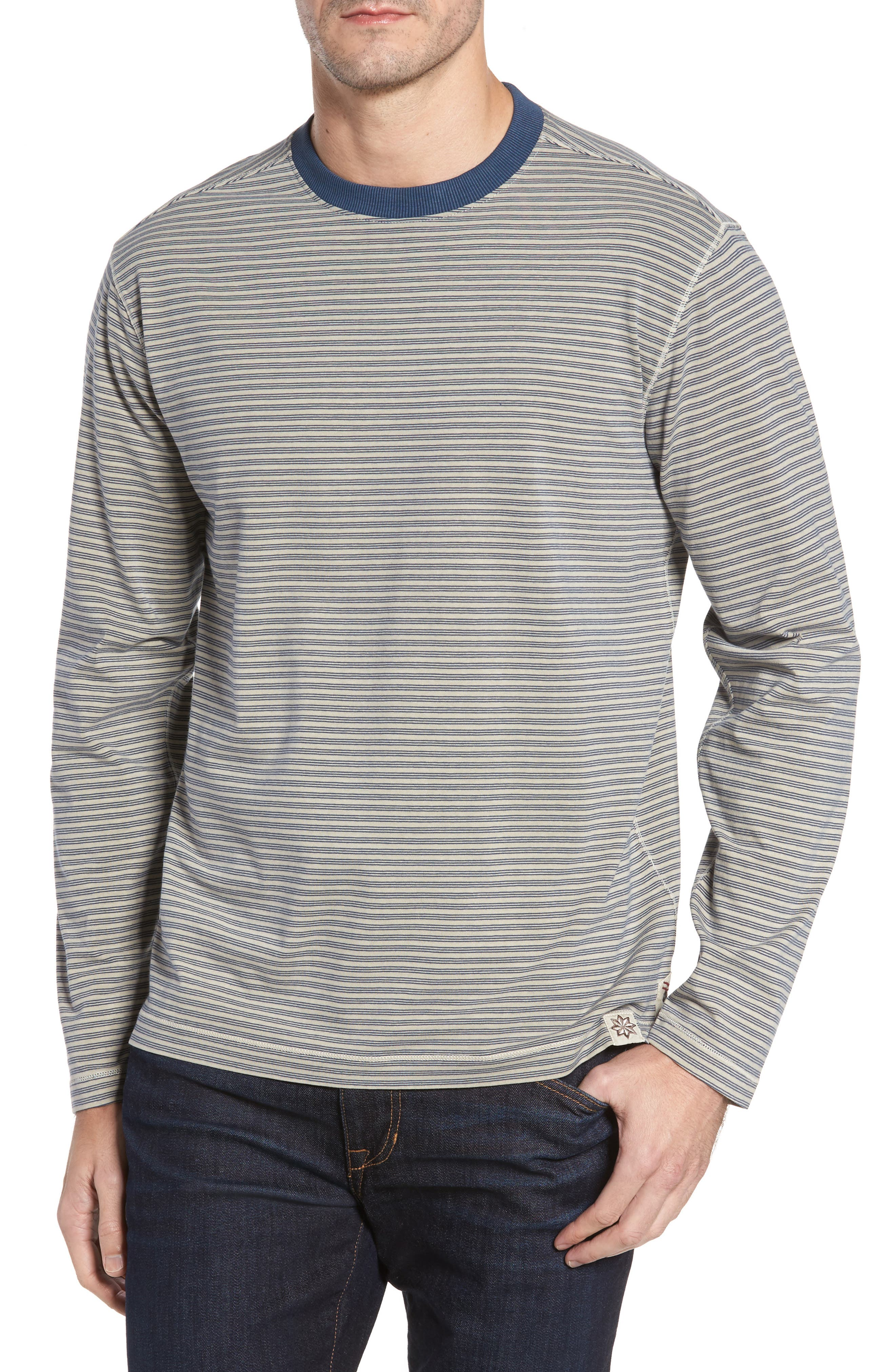 Iverson Long Sleeve Striped T-Shirt,                         Main,                         color, 290