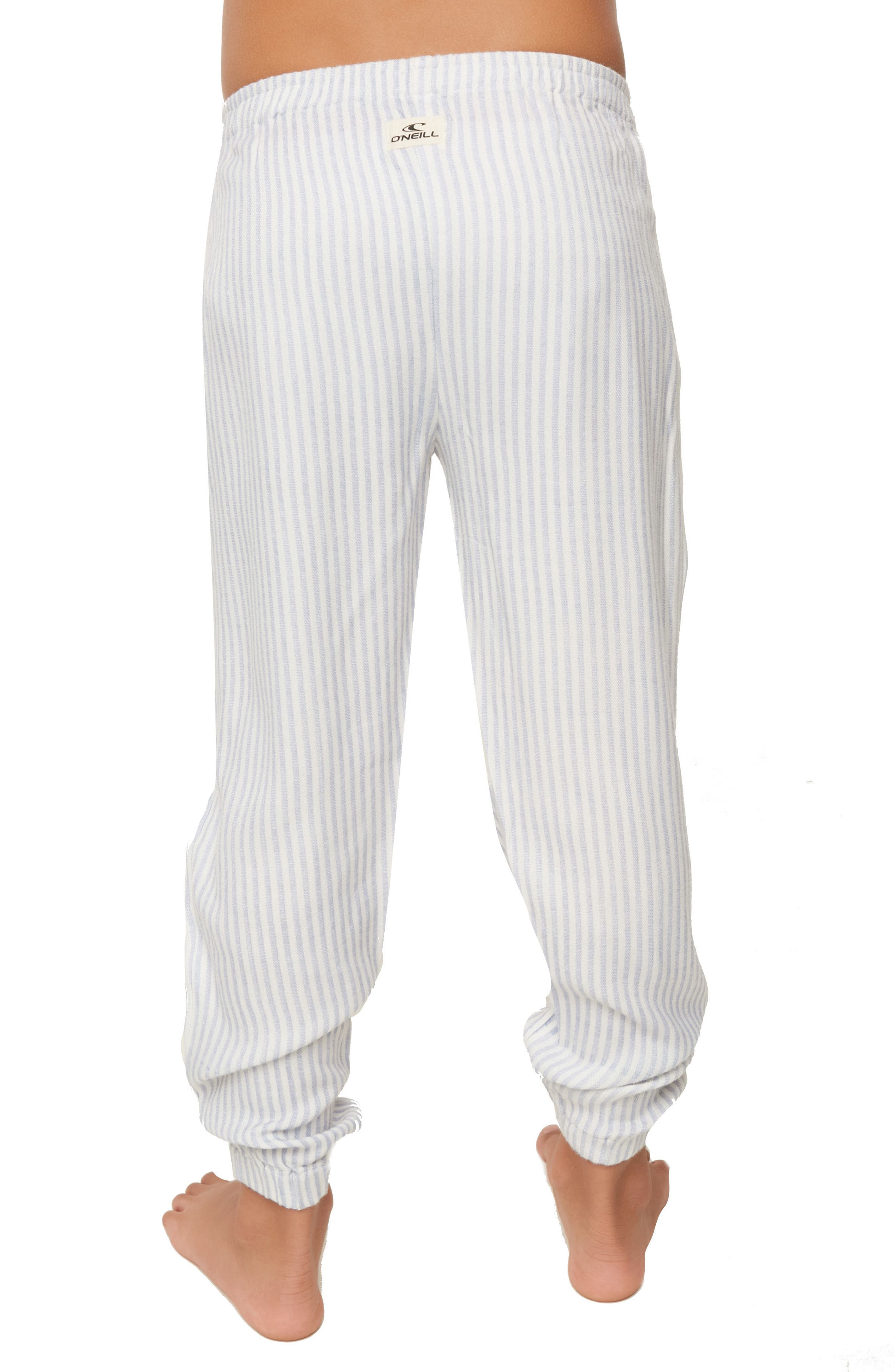 Skylar Stripe Jogger Pants,                             Alternate thumbnail 4, color,                             100