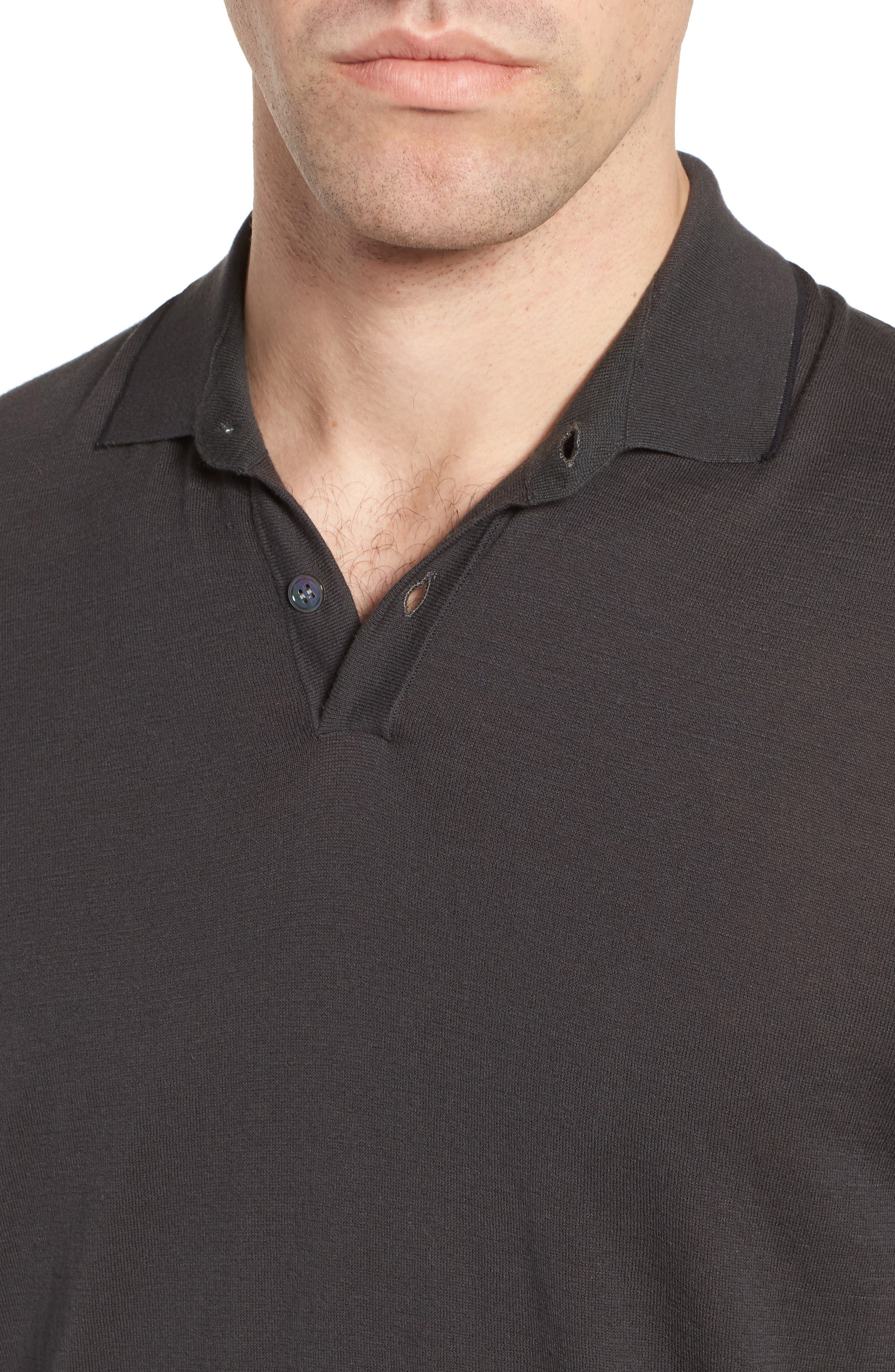 Fine Gauge Tipped Polo,                             Alternate thumbnail 11, color,