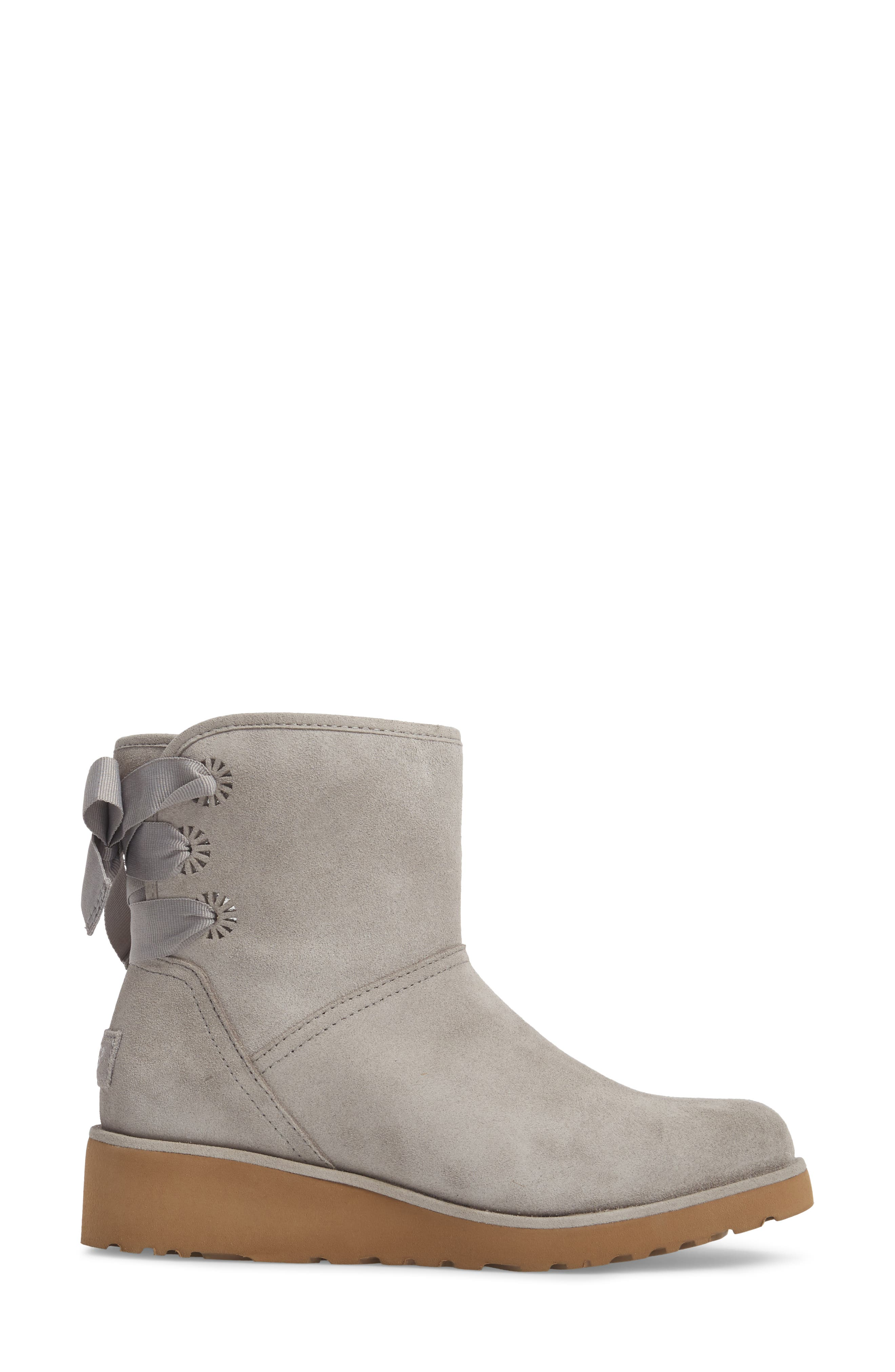 Drew Sunshine Perforated Tie Back Boot,                             Alternate thumbnail 7, color,