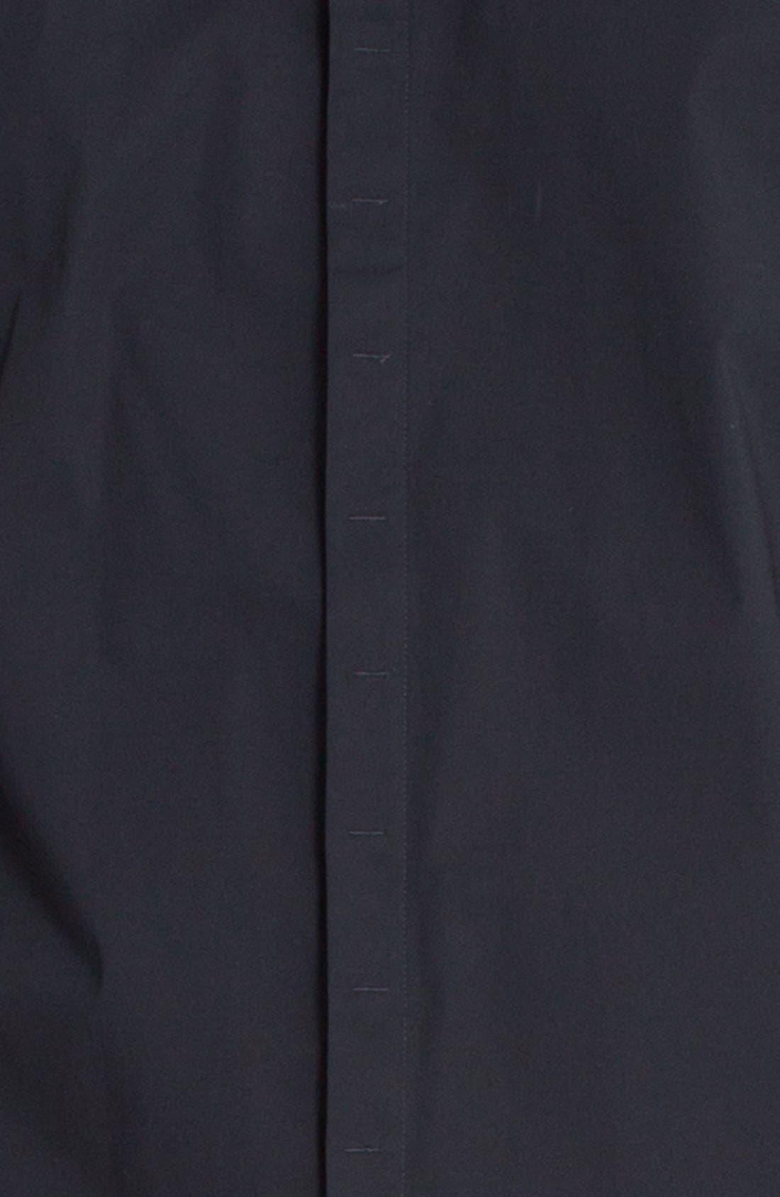 'Peace Train' Trim Fit Woven Shirt,                             Alternate thumbnail 21, color,