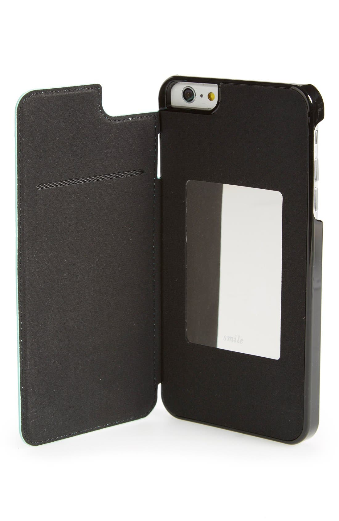 iPhone 6 Plus & 6s Plus leather folio case,                             Alternate thumbnail 2, color,                             400