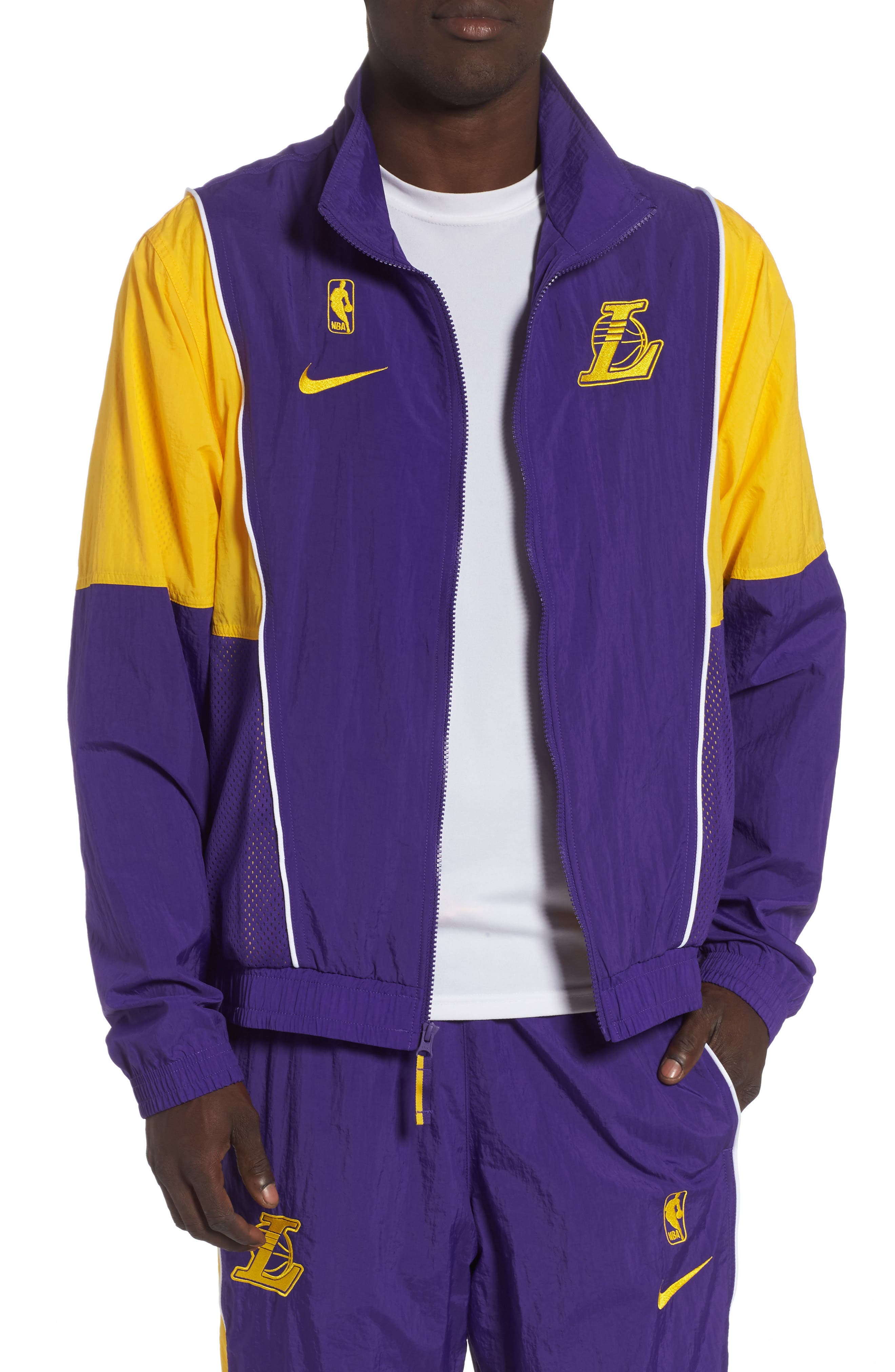 L.A. Lakers Track Jacket,                         Main,                         color, 504