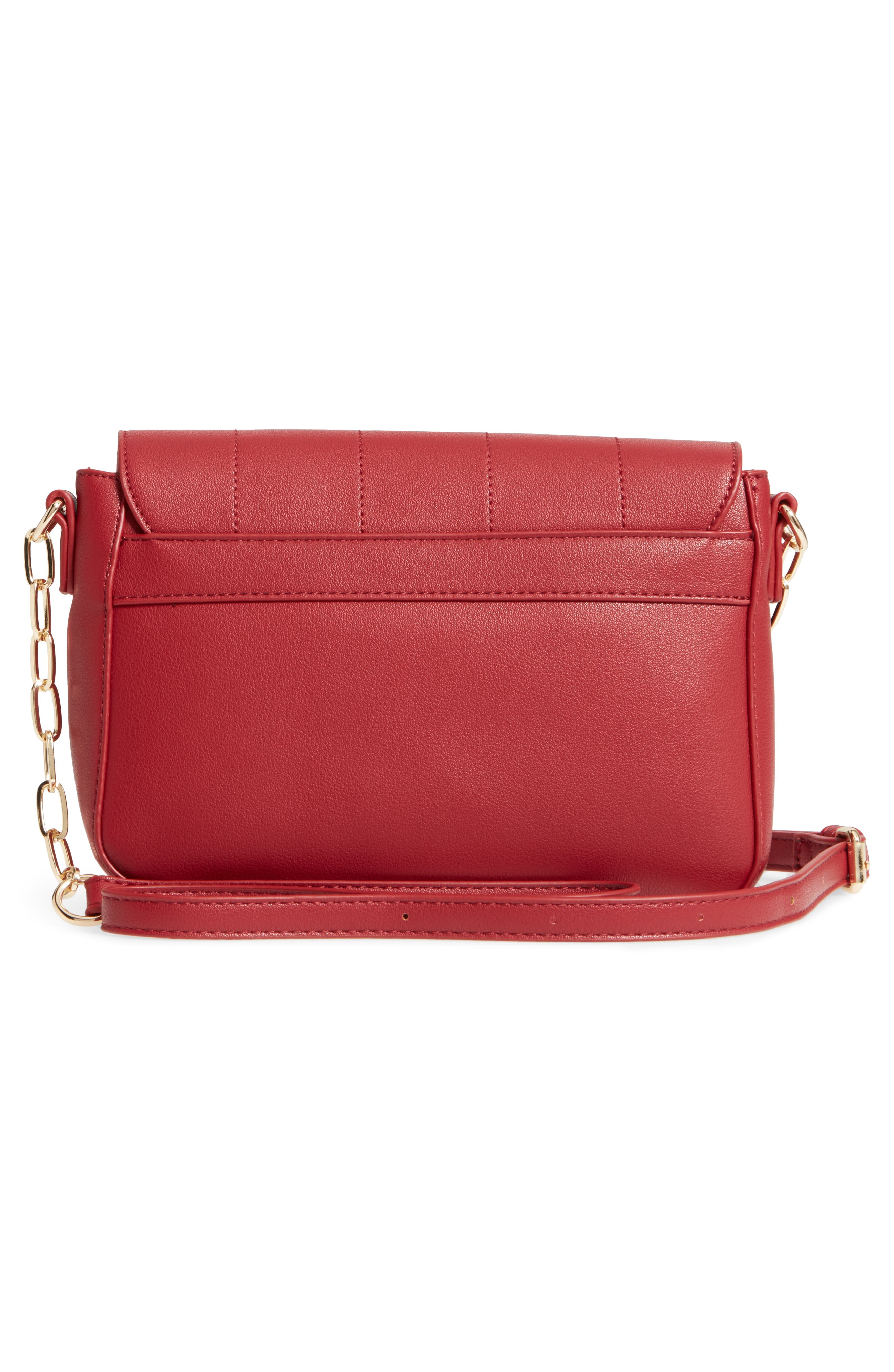 Colie Faux Leather Crossbody Bag,                             Alternate thumbnail 9, color,