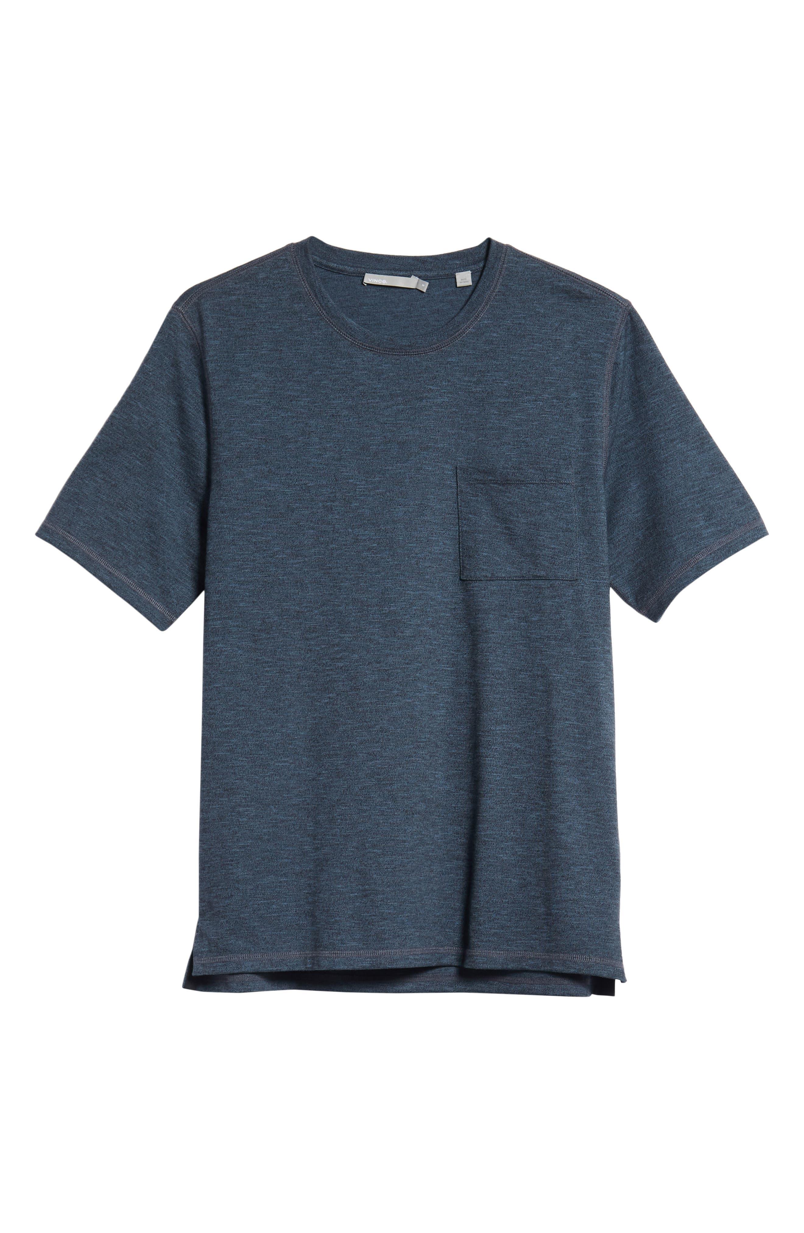 Classic Fit Pocket T-Shirt,                             Alternate thumbnail 6, color,                             400