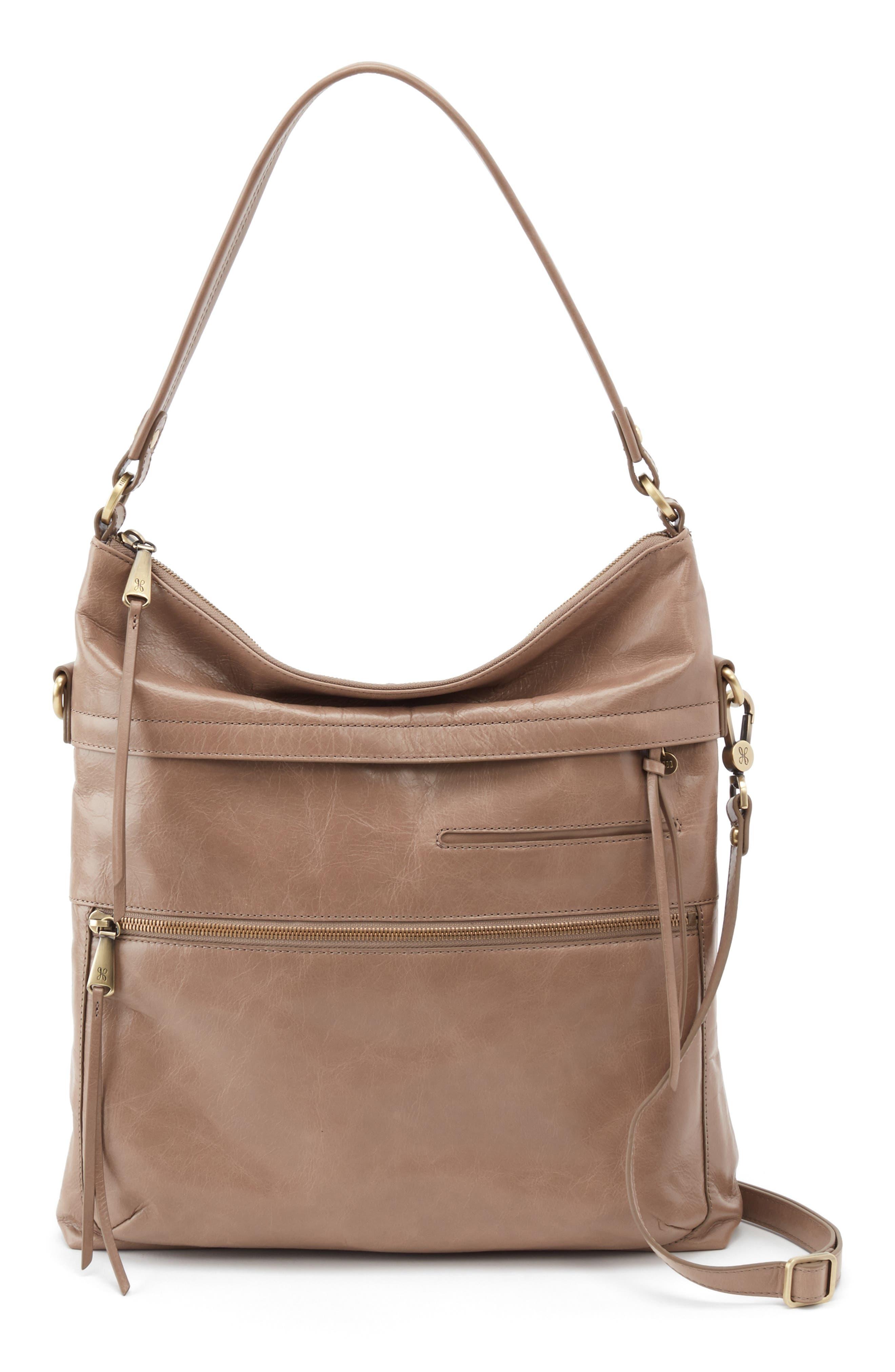 Liberty Convertible Bucket Bag, Main, color, COBBLESTONE