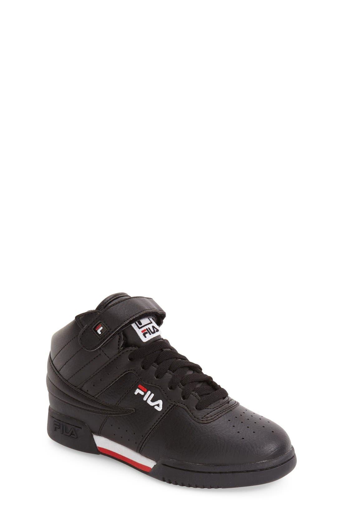 F-13 High Top Sneaker,                             Main thumbnail 1, color,                             001