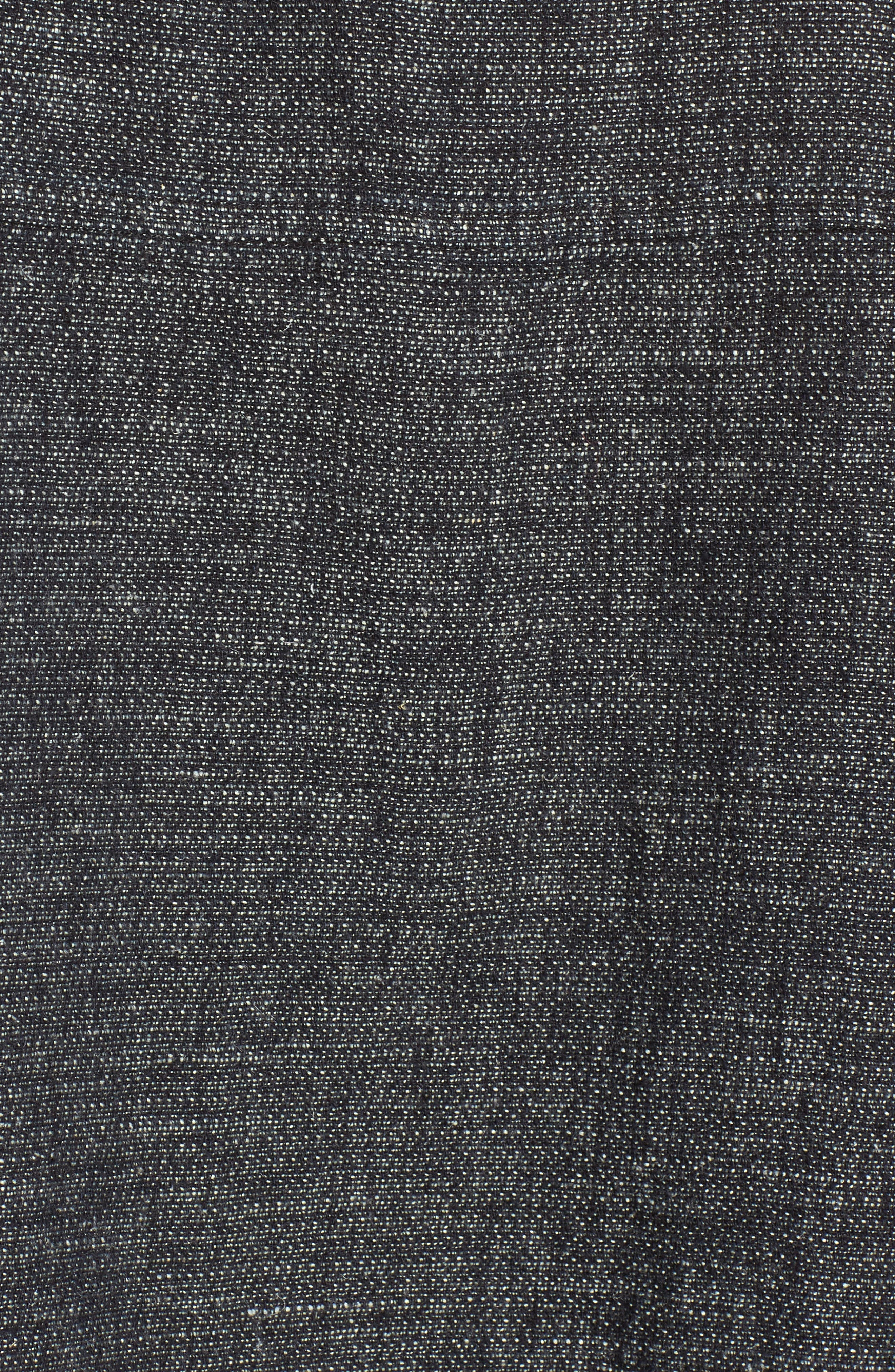 Boxy Hemp & Organic Cotton Top,                             Alternate thumbnail 5, color,                             402