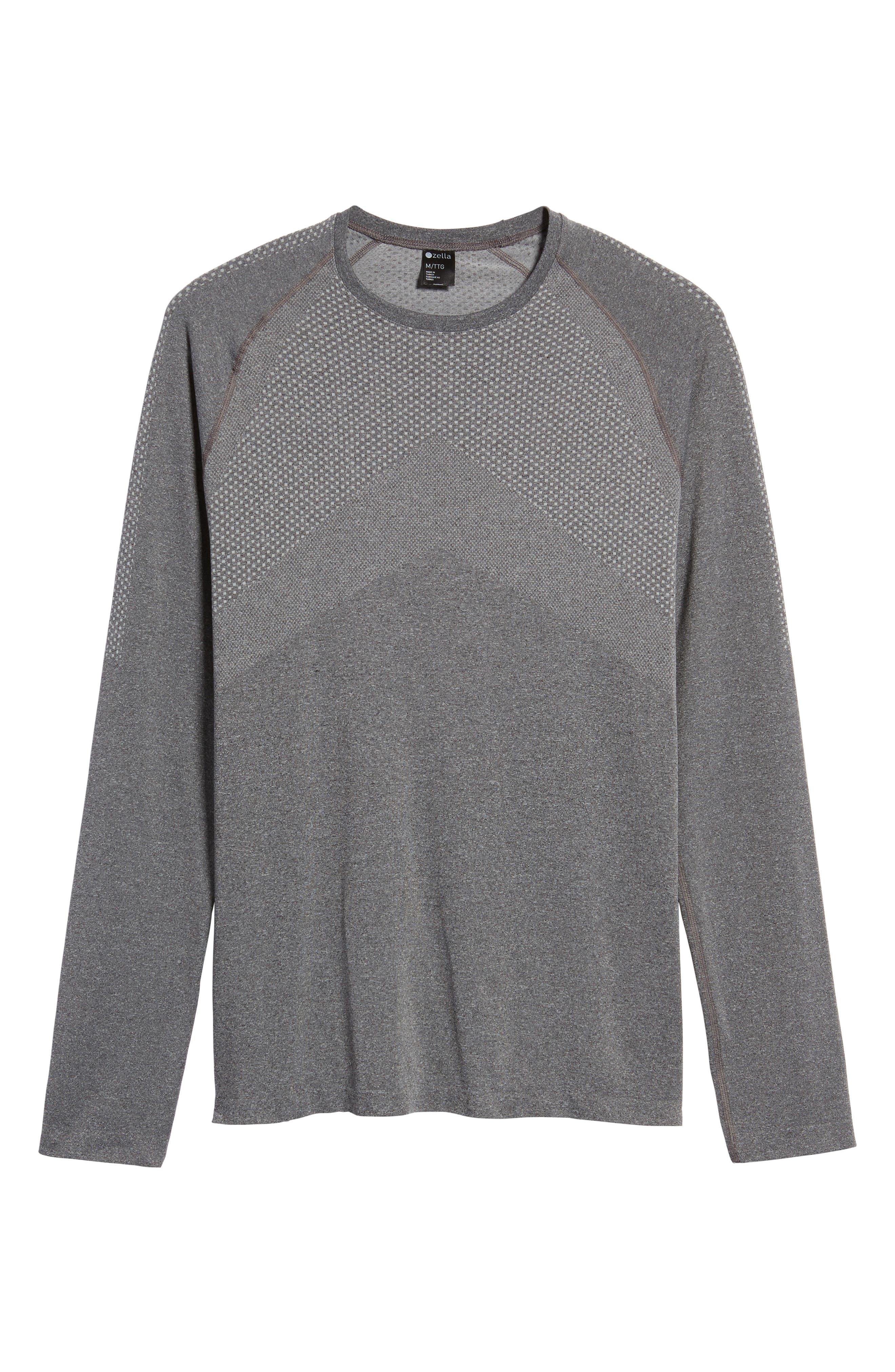Zeolite Long Sleeve Performance T-Shirt,                             Alternate thumbnail 17, color,