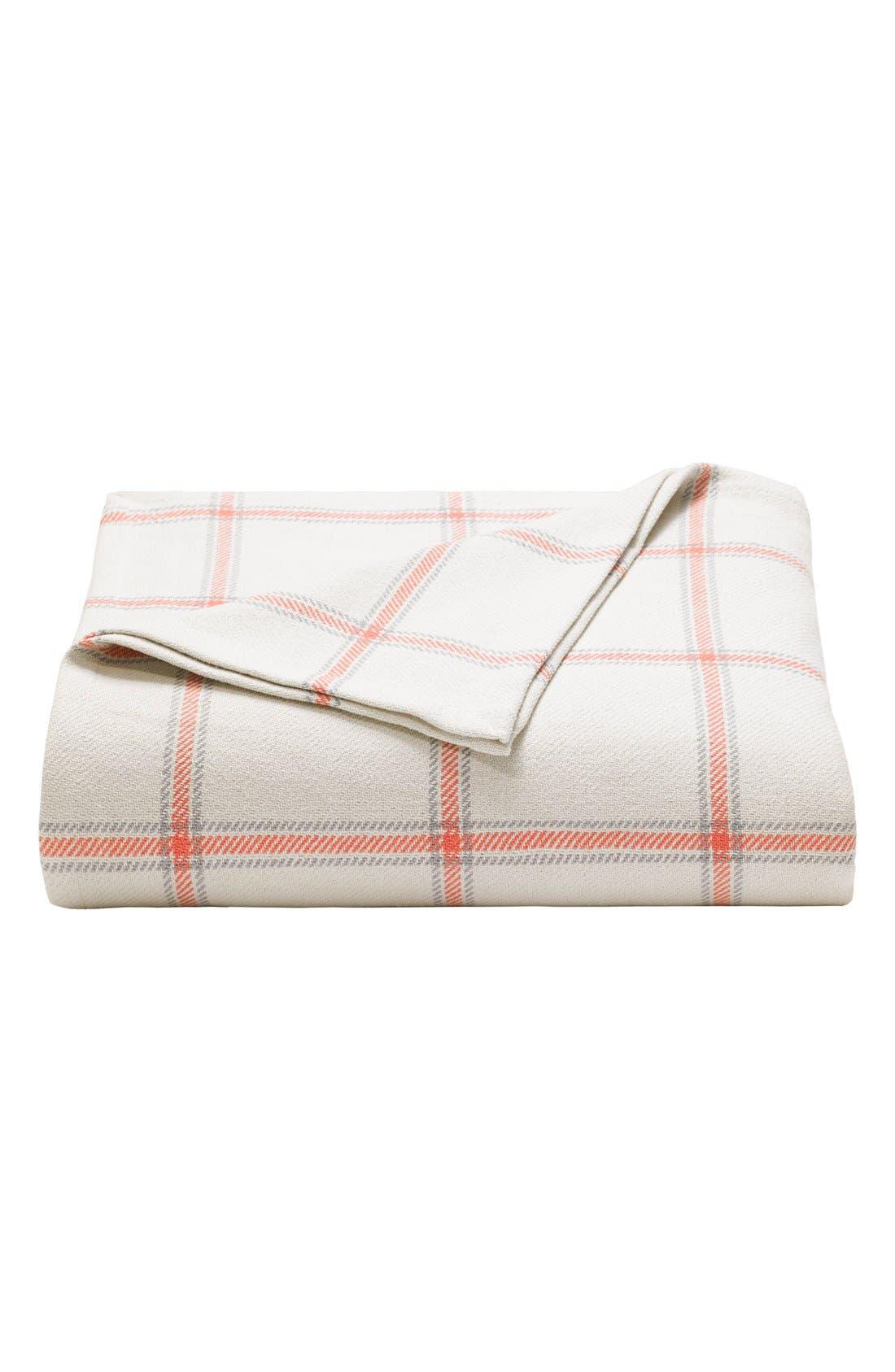 'Halstead' Windowpane Plaid Blanket,                         Main,                         color,
