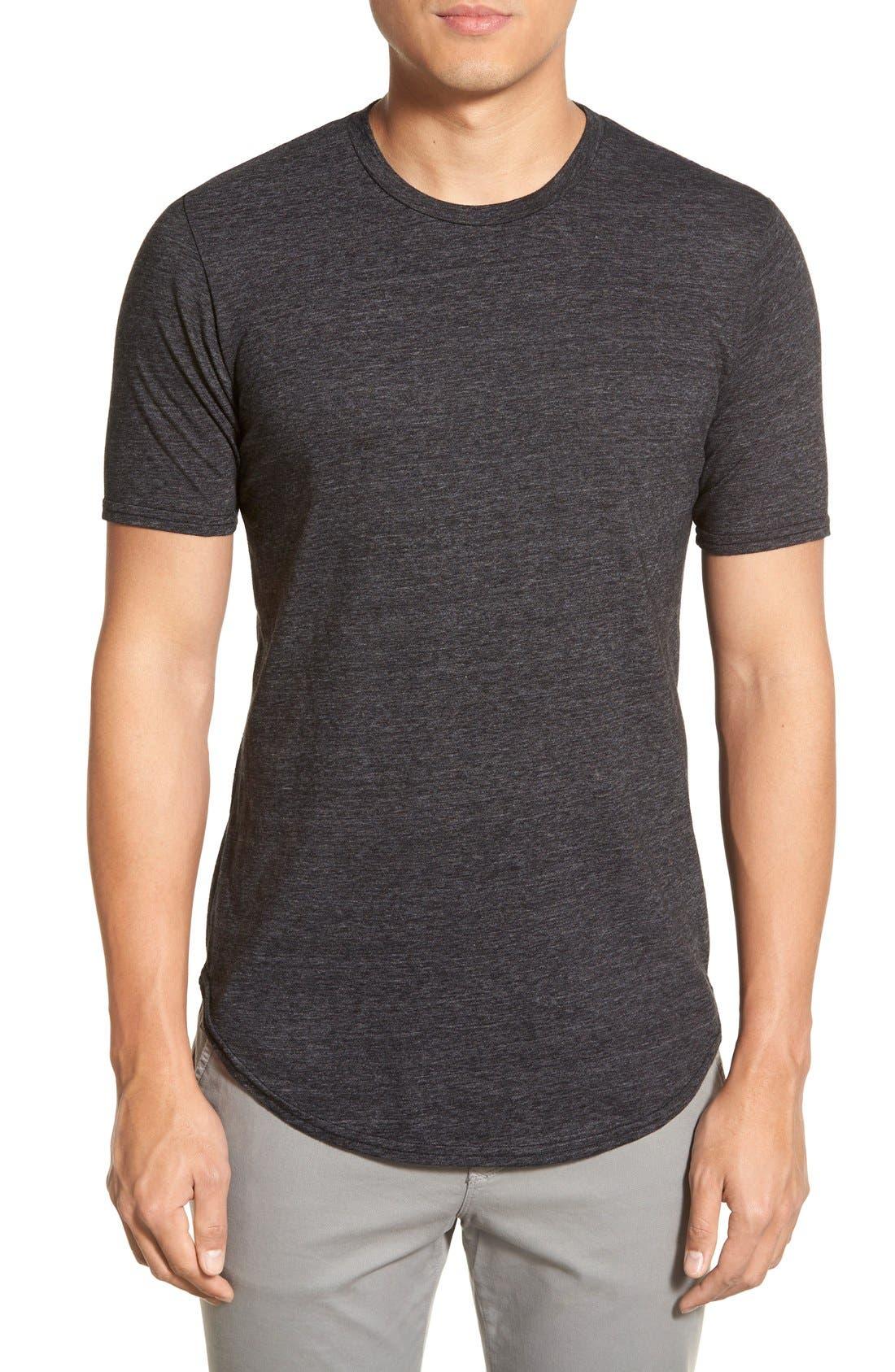 Scallop Triblend Crewneck T-Shirt,                             Main thumbnail 15, color,