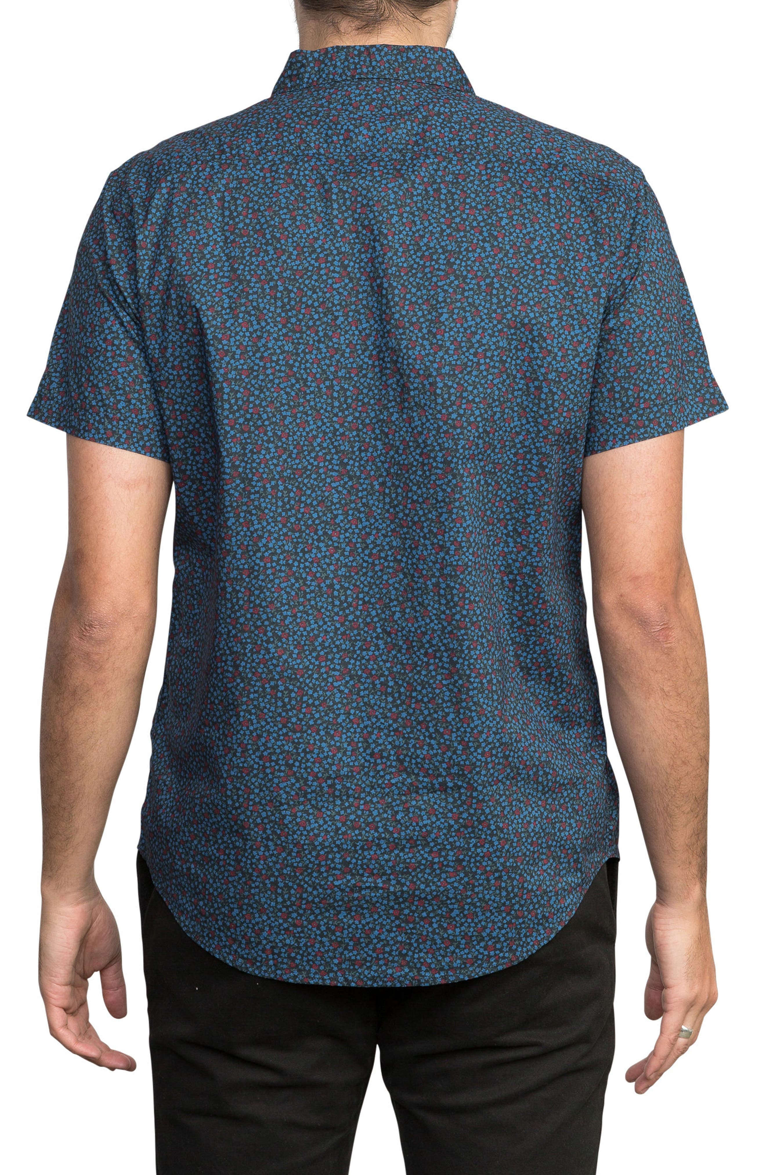 Happy Thoughts Woven Shirt,                             Alternate thumbnail 2, color,                             BLACK