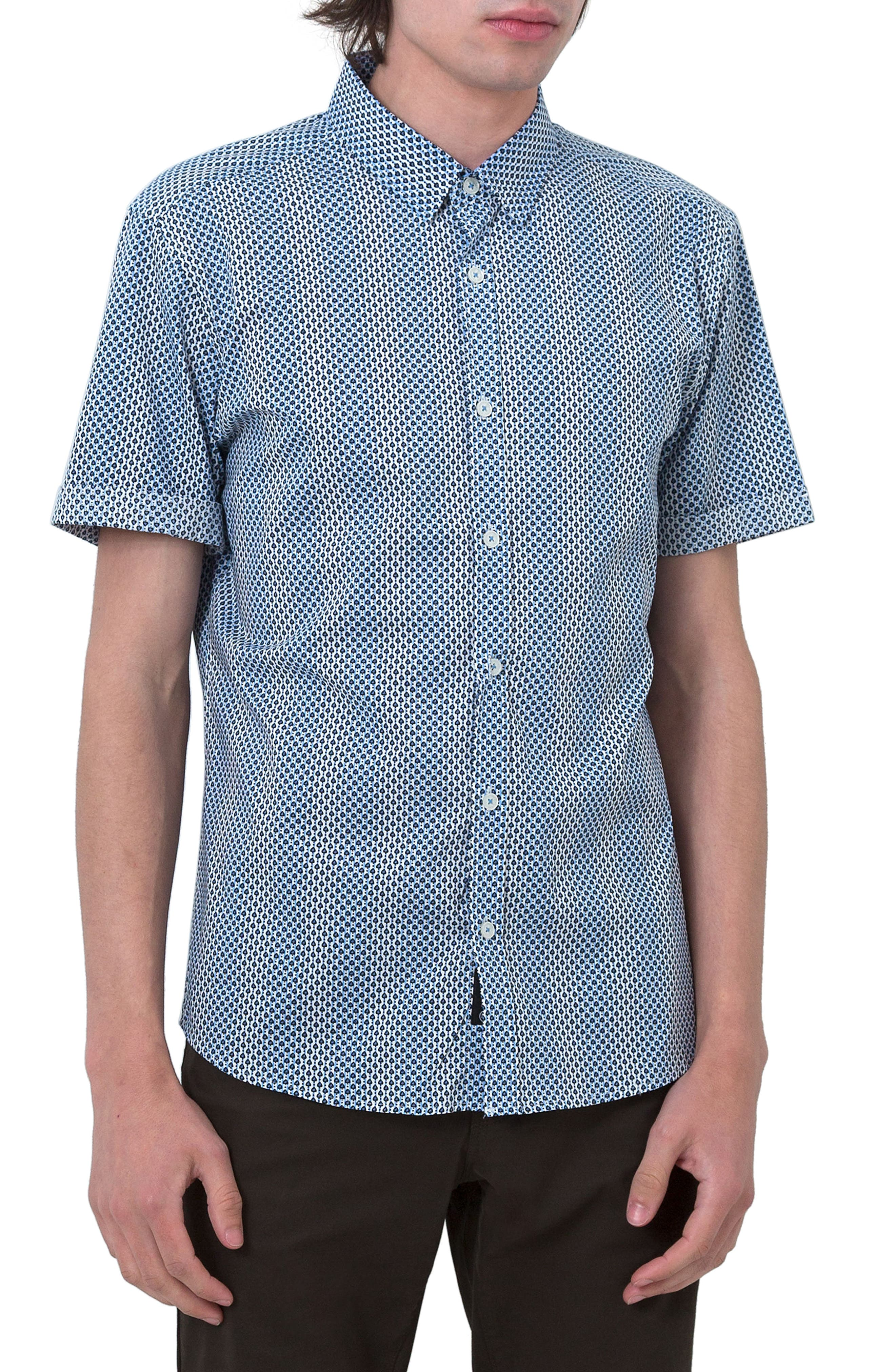 Goodnight Sun Woven Shirt,                         Main,                         color, 400