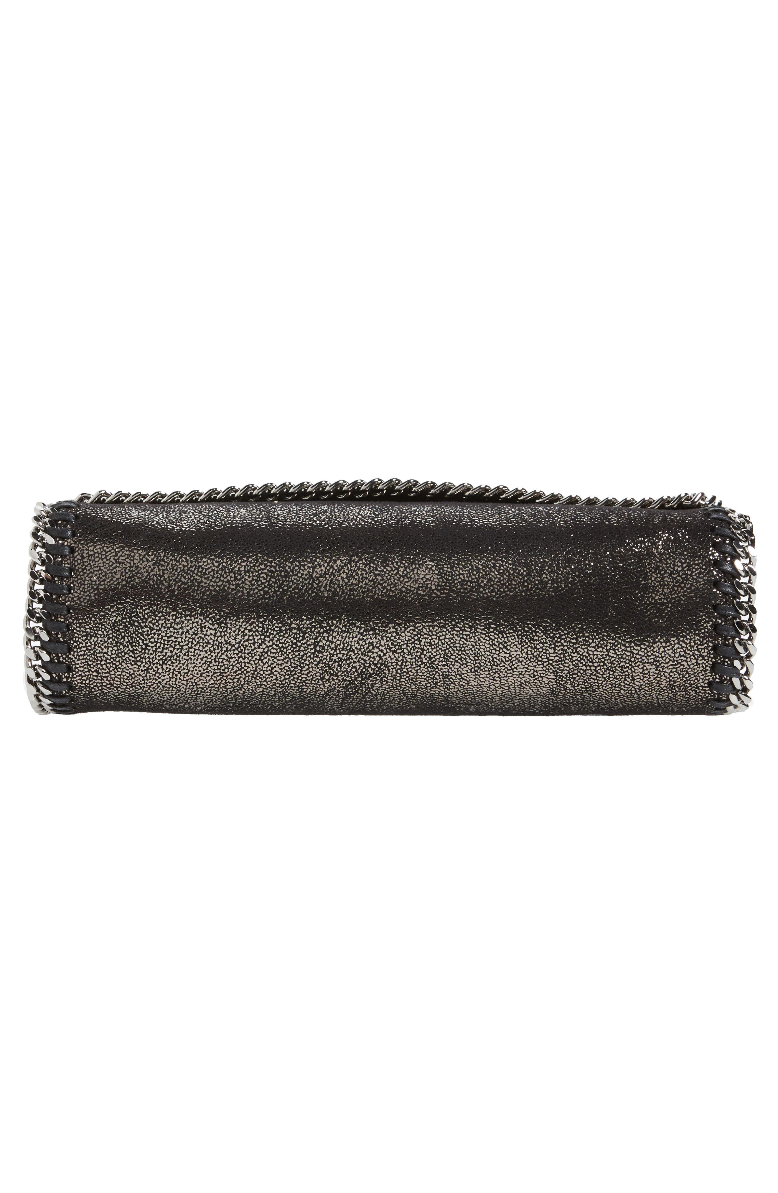 Faux Leather Flap Shoulder Bag,                             Alternate thumbnail 6, color,                             041