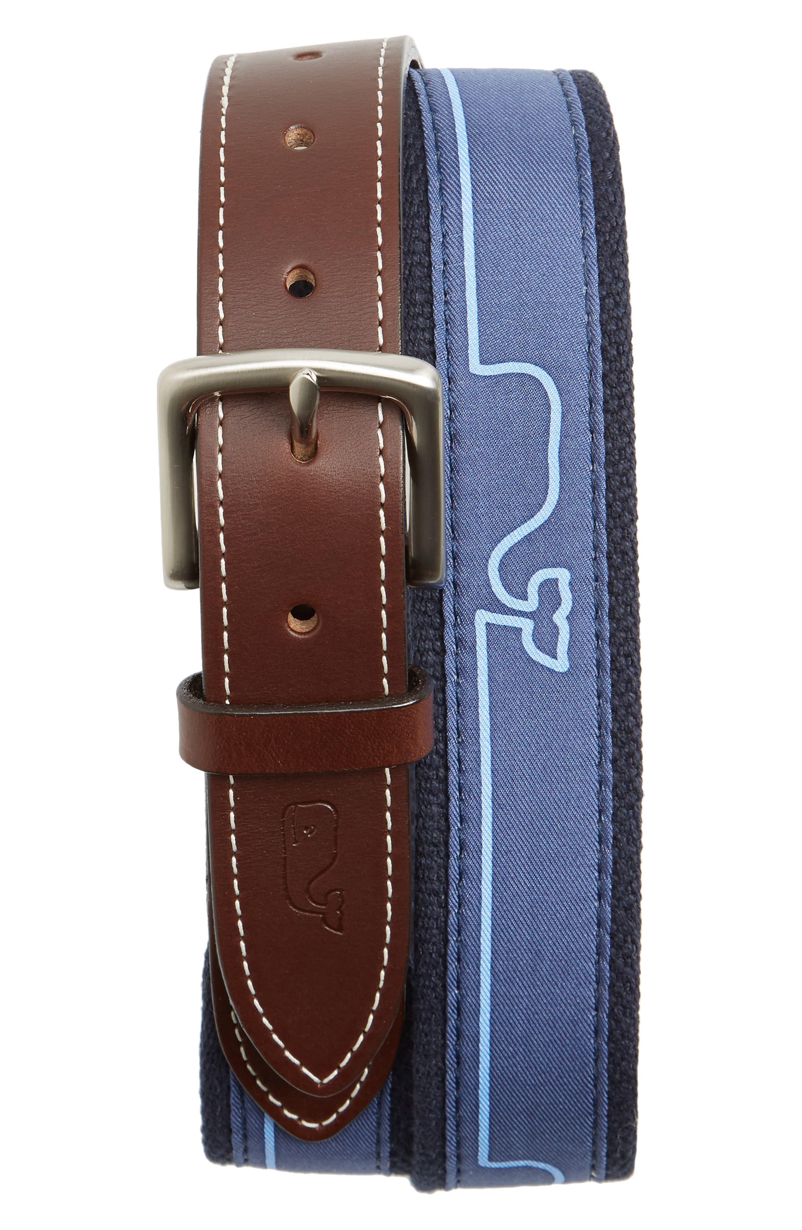 Whaline Match Canvas Belt,                             Main thumbnail 2, color,