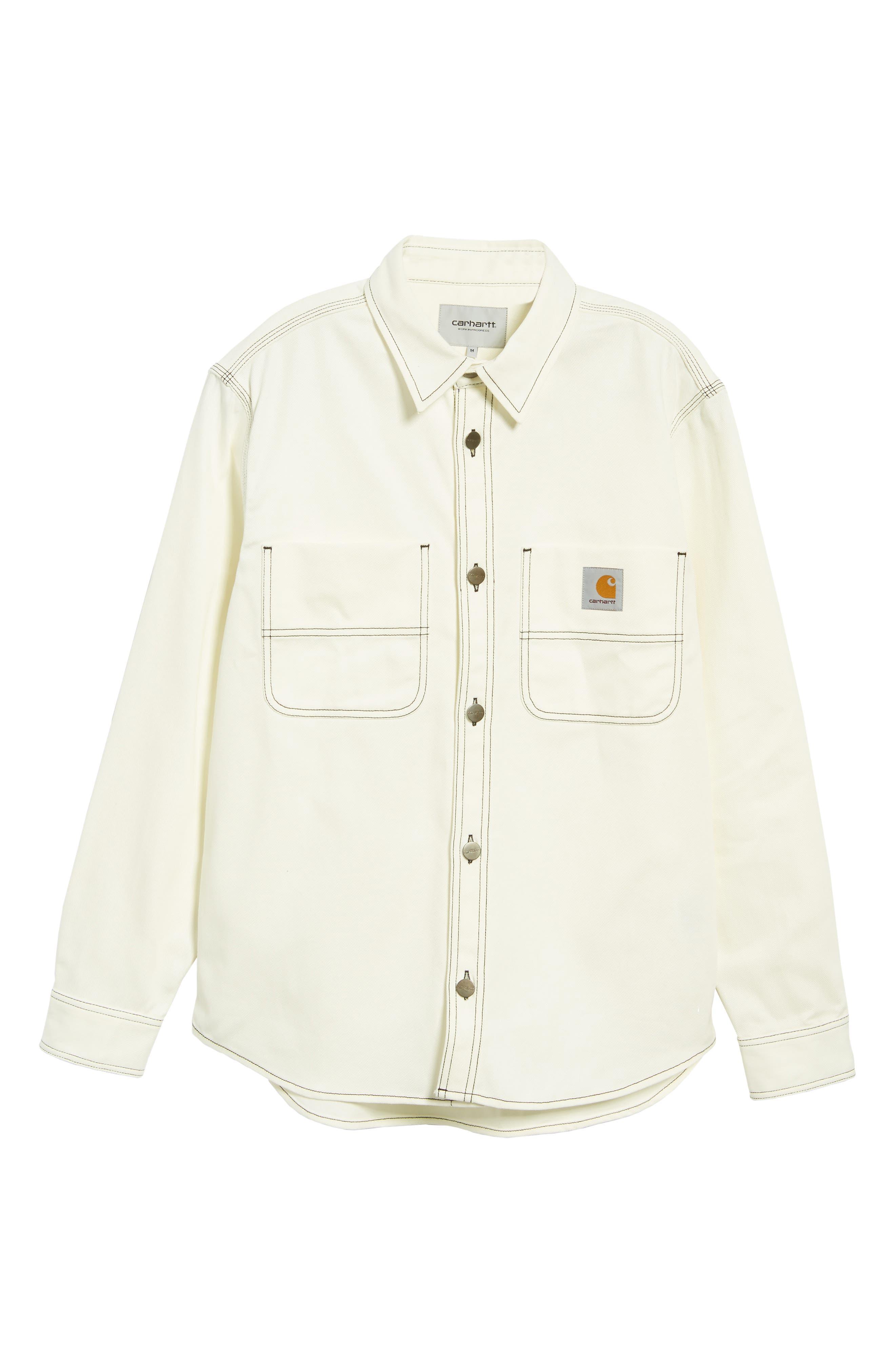 Shirt Jacket,                             Alternate thumbnail 6, color,                             WAX