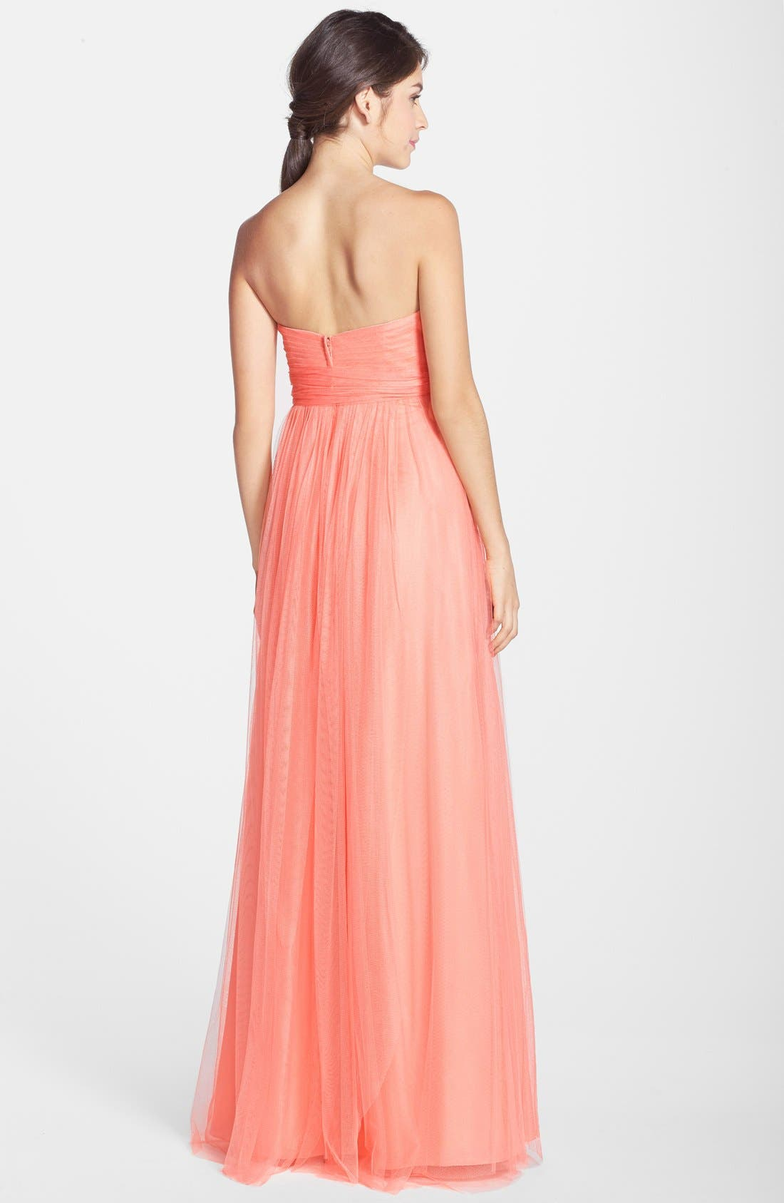 Annabelle Convertible Tulle Column Dress,                             Alternate thumbnail 163, color,