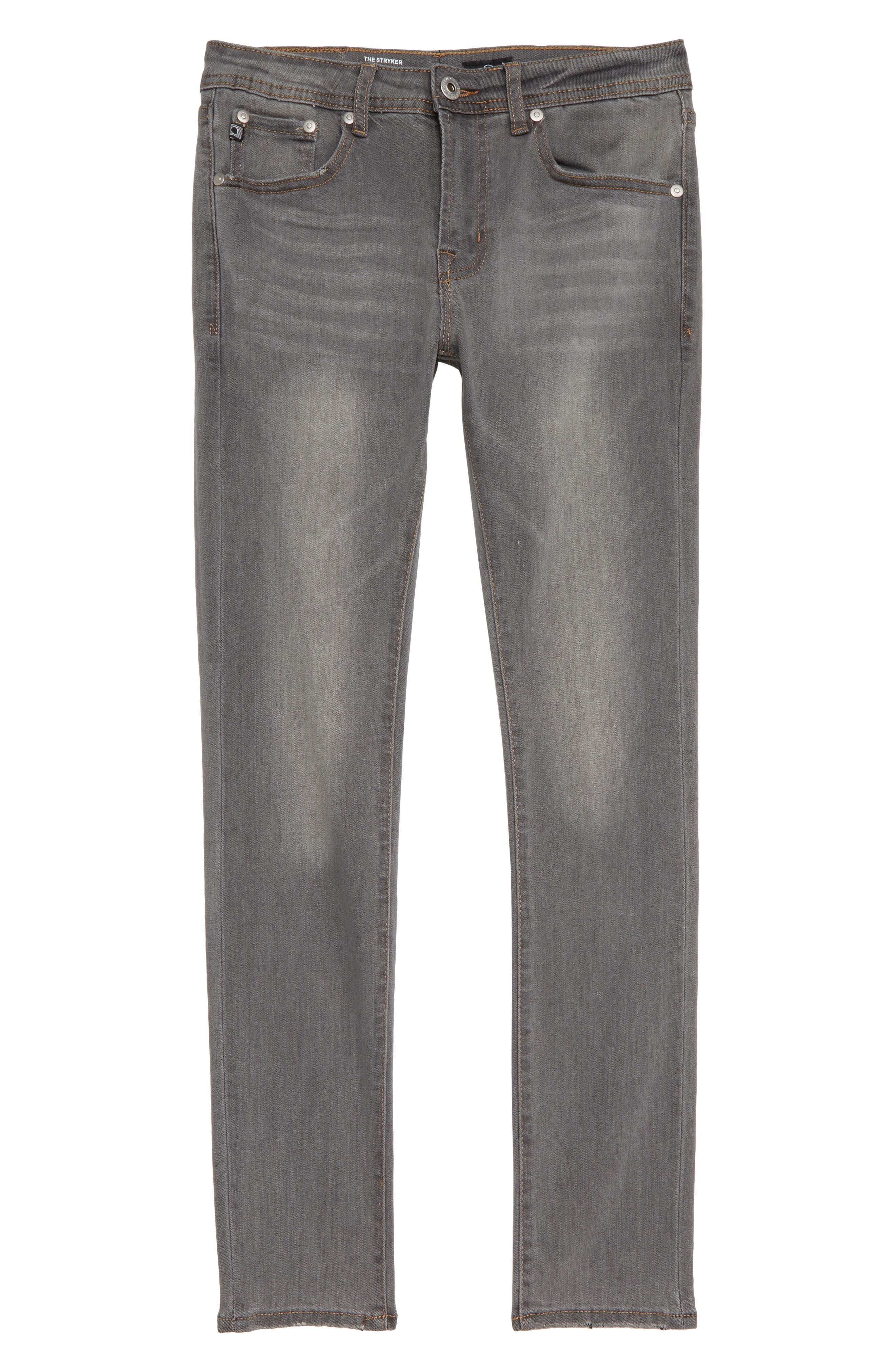 The Stryker Slim Straight Leg Jeans,                             Main thumbnail 1, color,                             GRAPHITE