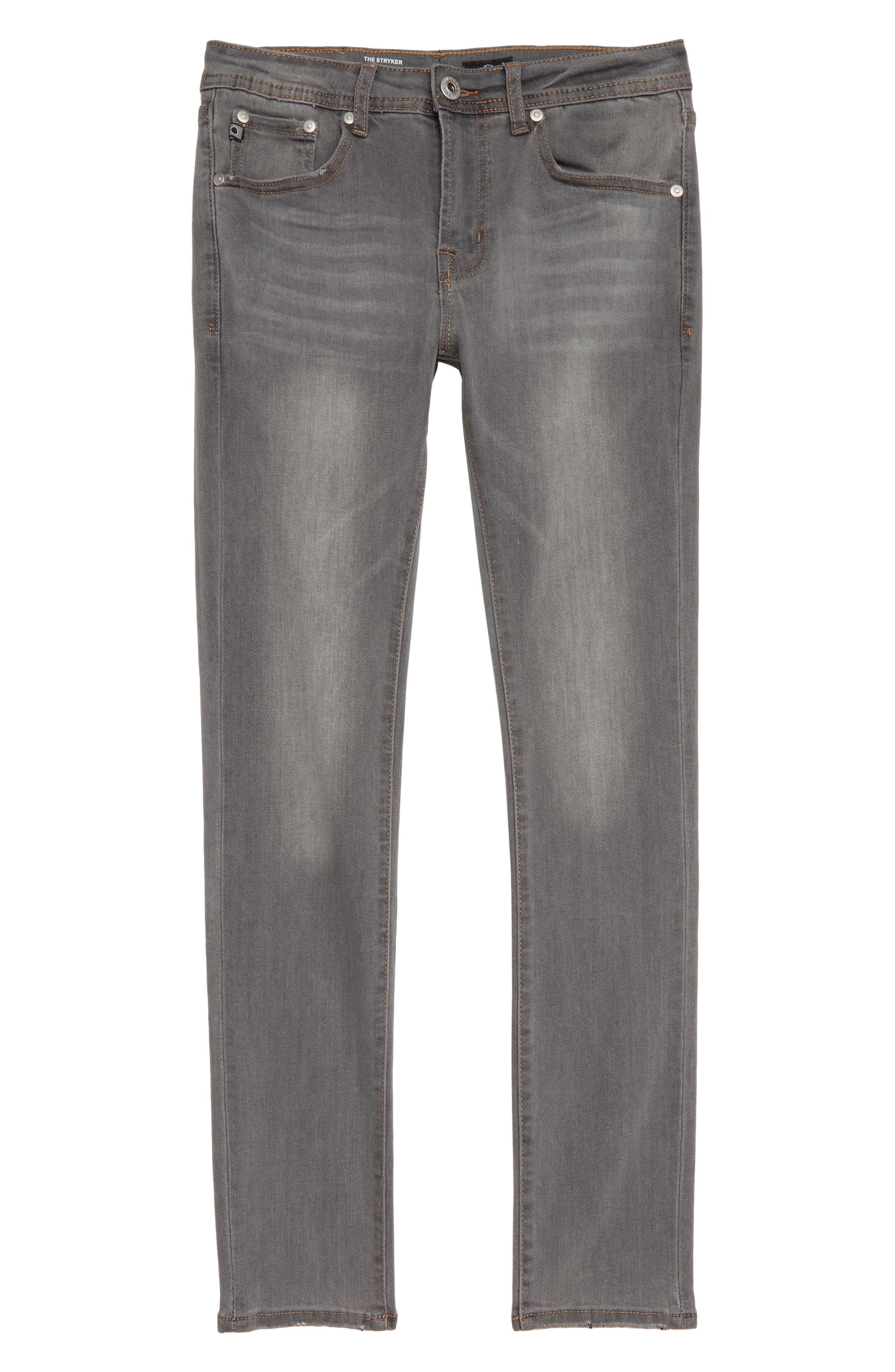 The Stryker Slim Straight Leg Jeans,                         Main,                         color, GRAPHITE