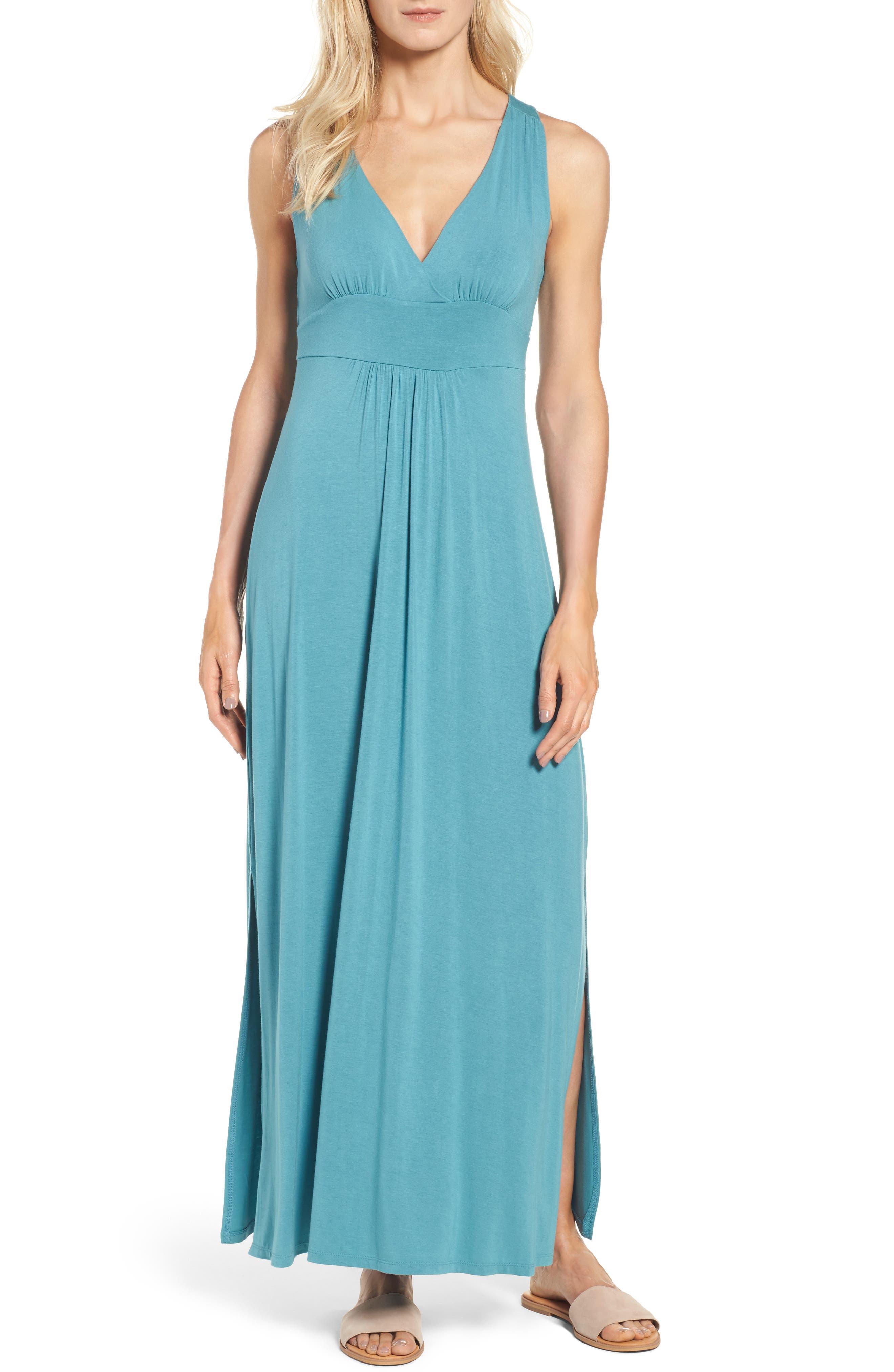 Knit Maxi Dress,                             Main thumbnail 4, color,