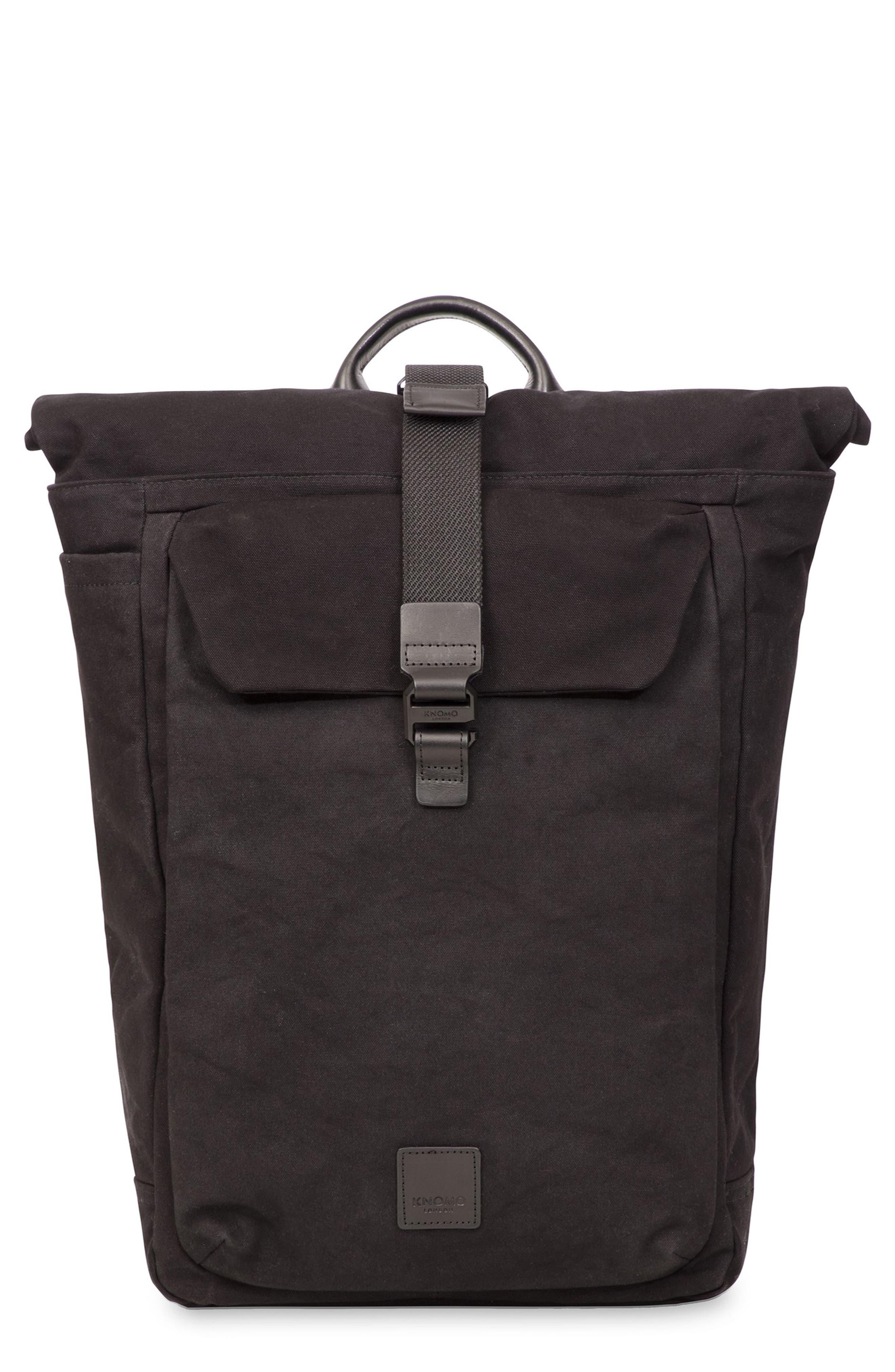 Fulham Novello Backpack,                             Main thumbnail 1, color,                             BLACK