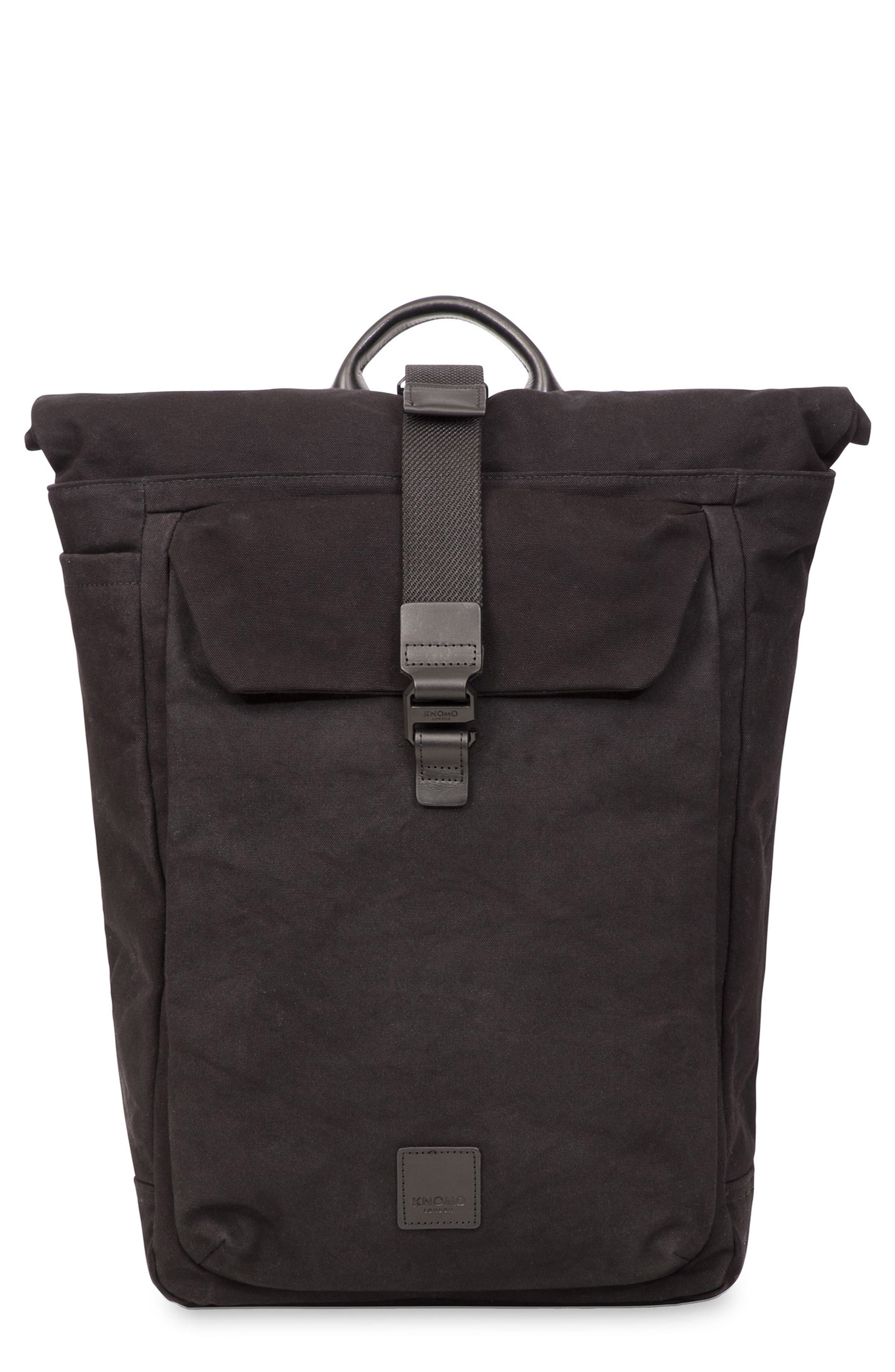 Fulham Novello Backpack,                         Main,                         color, BLACK
