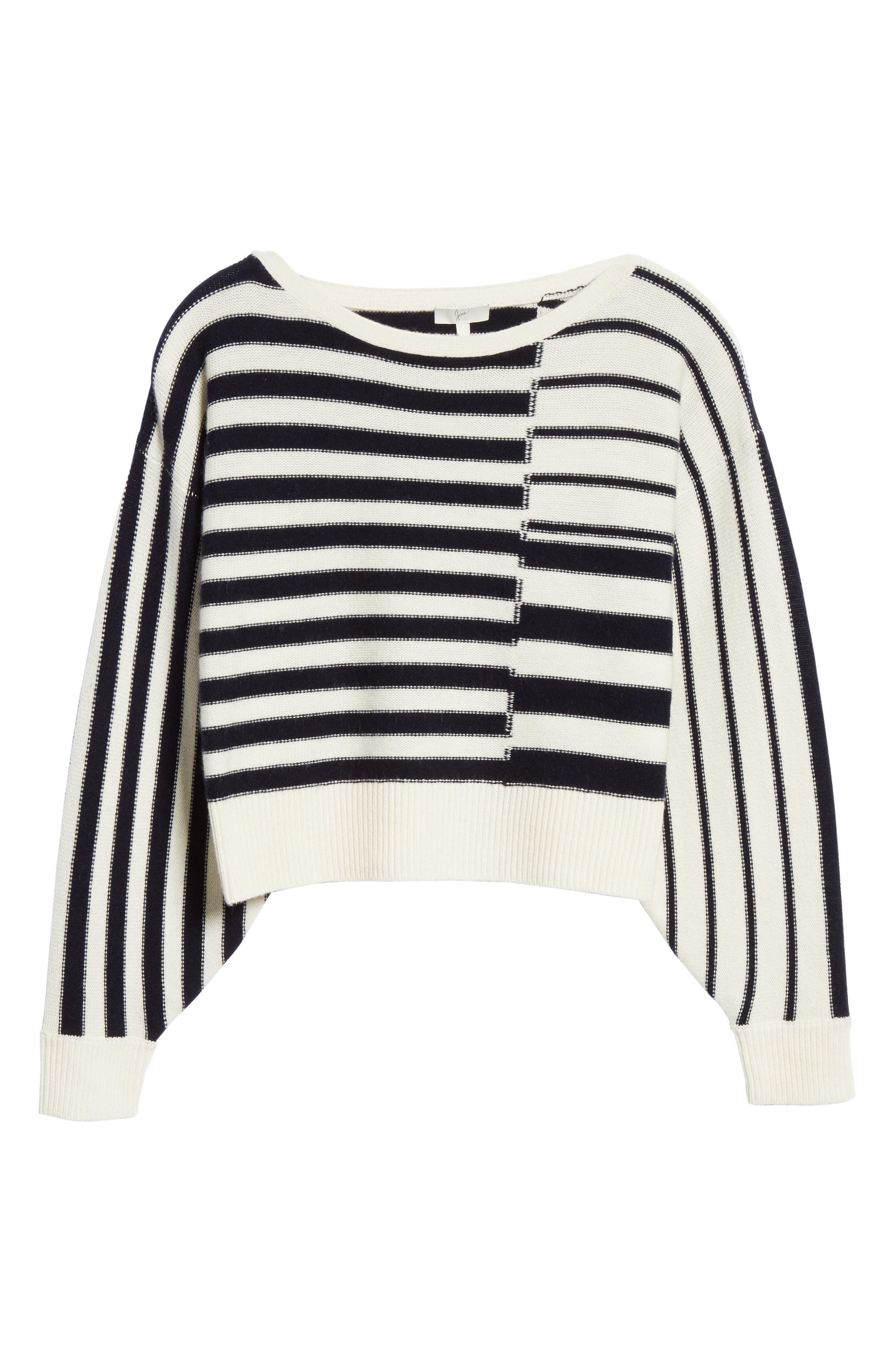 Maridel Sweater,                             Alternate thumbnail 6, color,                             PORCELAIN MIDNIGHT