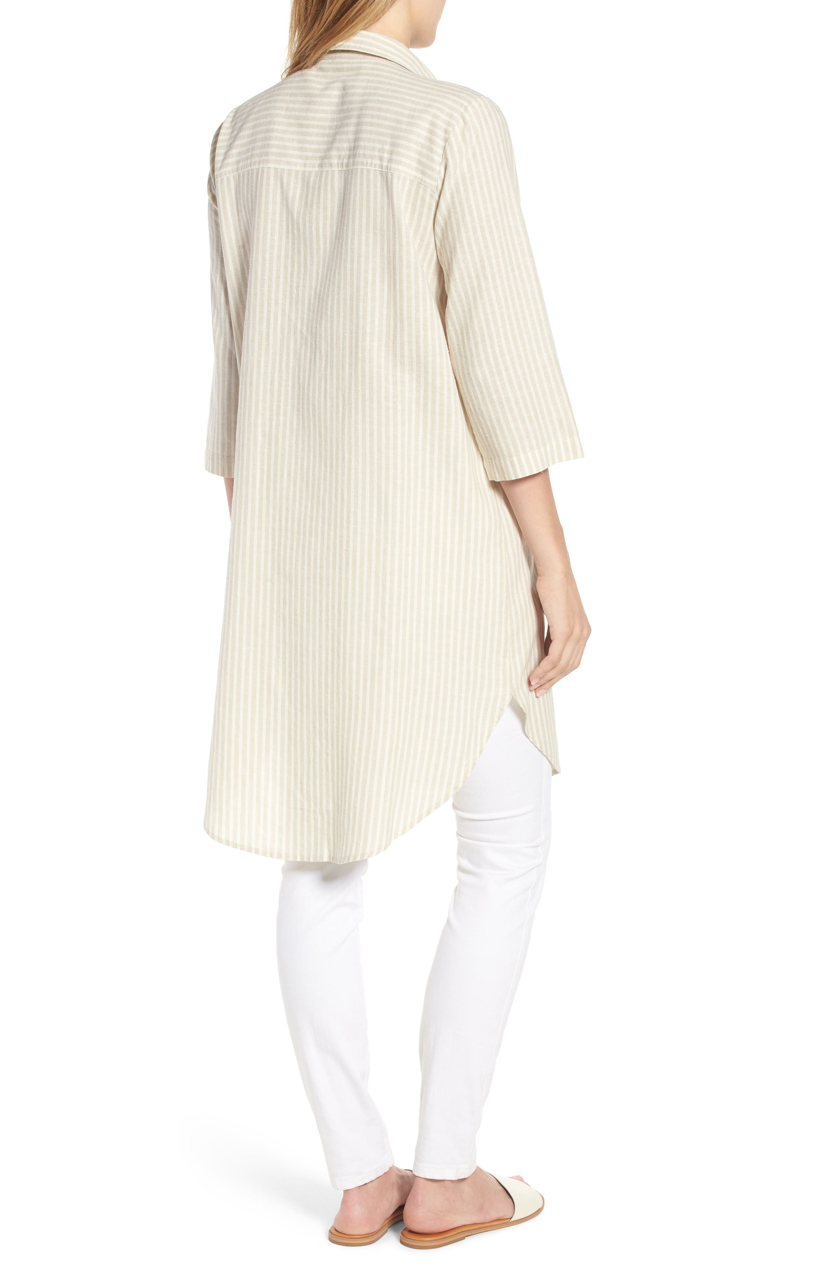 Stripe Tunic Top,                             Alternate thumbnail 2, color,                             257