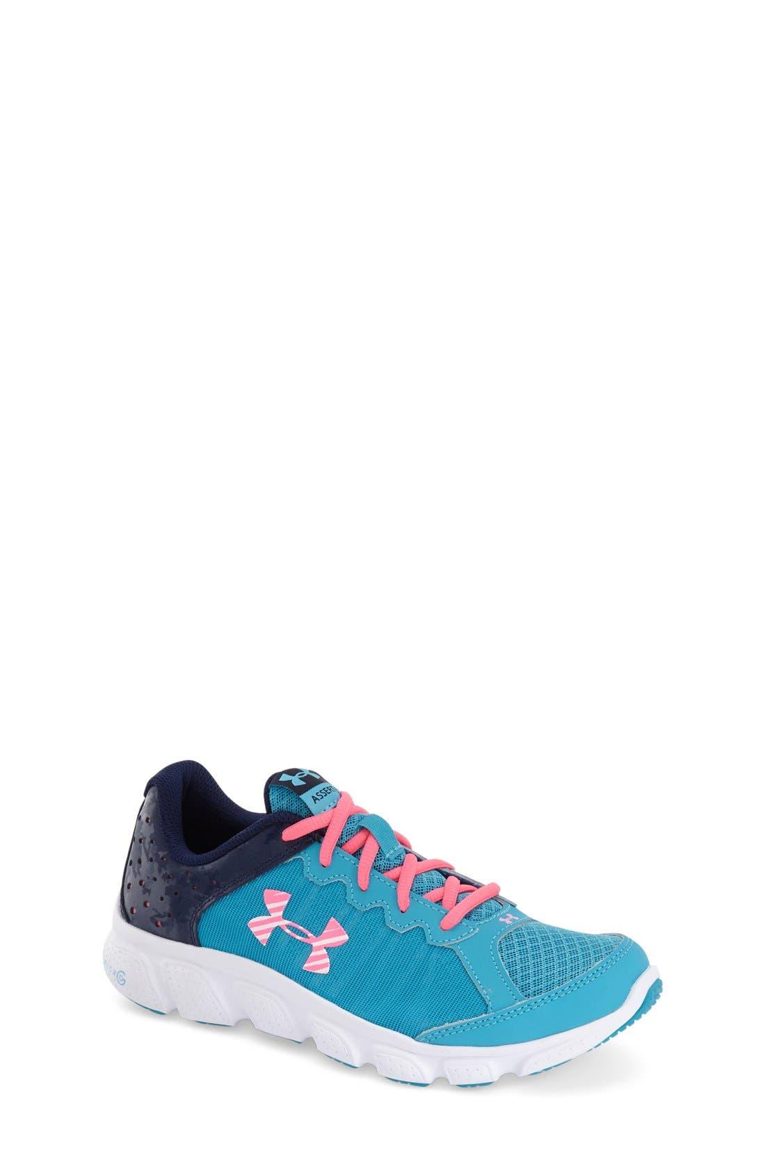 'Micro G<sup>®</sup> Assert VI' Running Shoe,                             Main thumbnail 4, color,