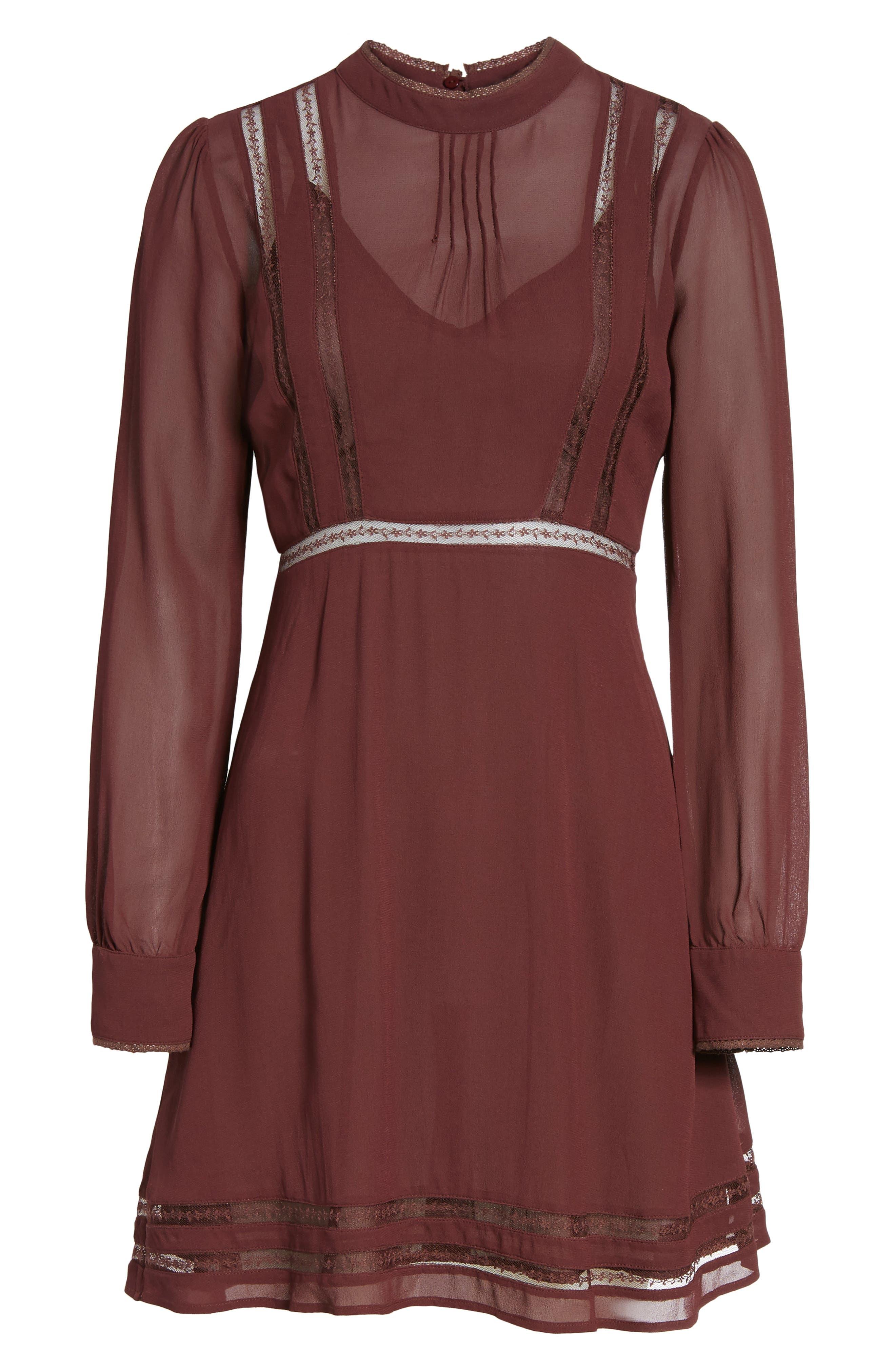 Kirsten A-Line Dress,                             Alternate thumbnail 24, color,