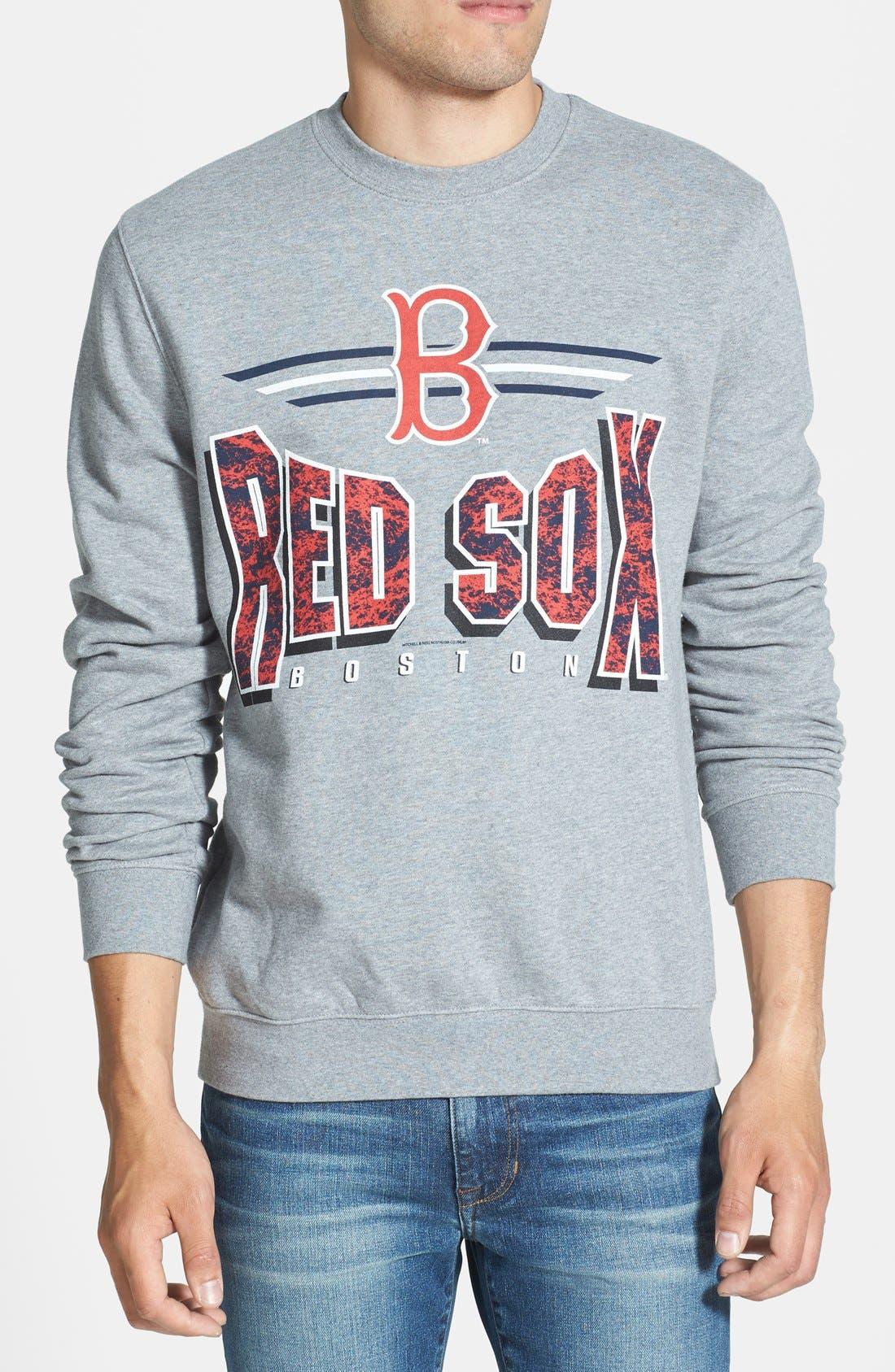 'Boston Red Sox' Crewneck Sweatshirt,                             Main thumbnail 1, color,                             061