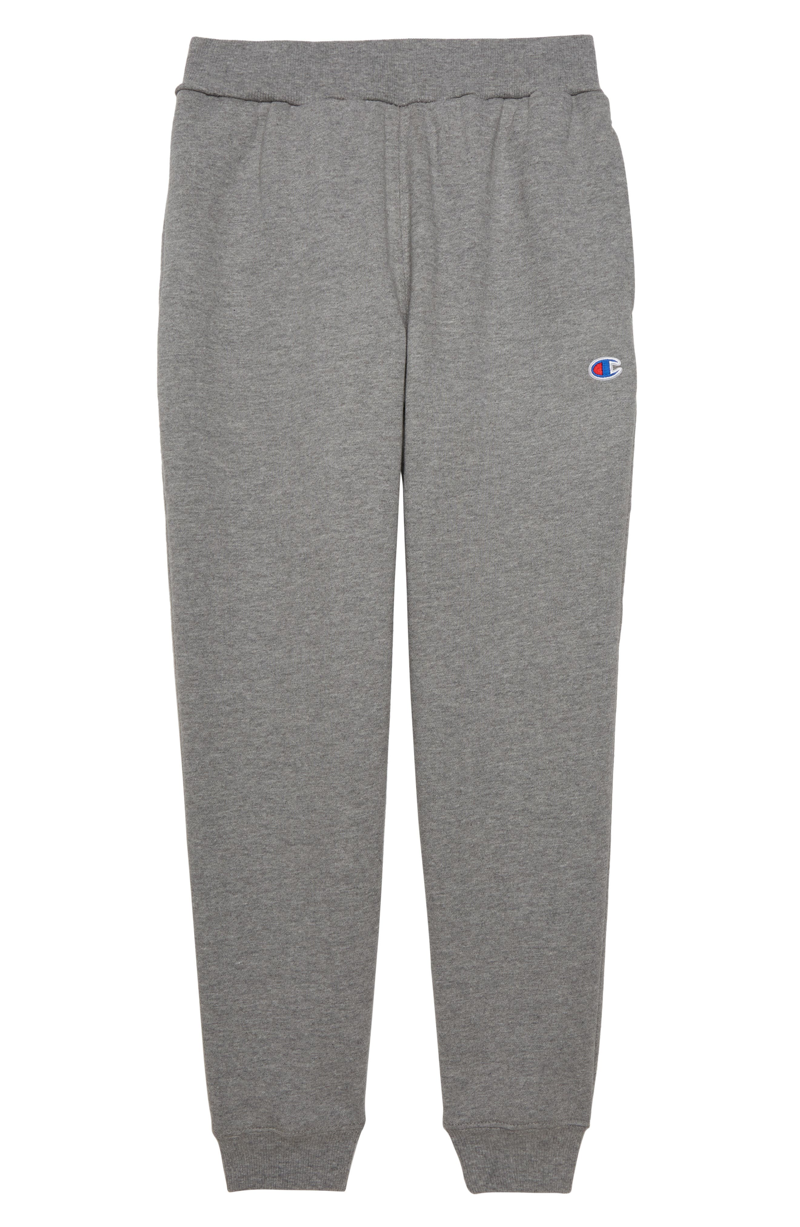 Reverse Weave Jogger Pants,                         Main,                         color, OXFORD HEATHER