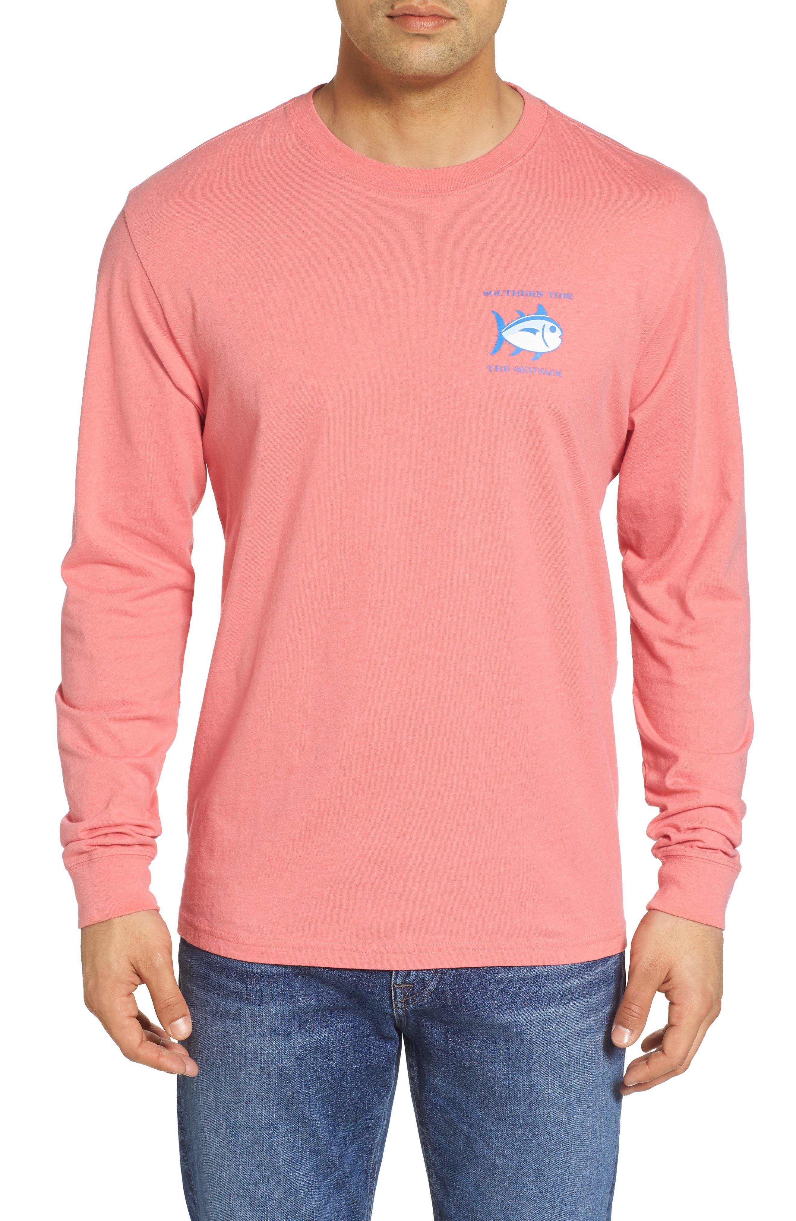 'Skipjack'Long Sleeve Graphic T-Shirt,                             Main thumbnail 3, color,