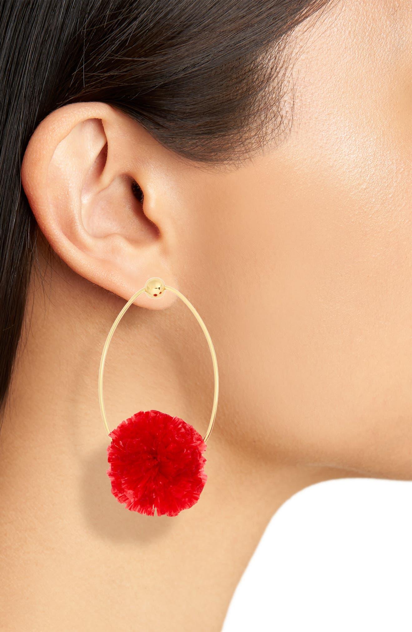 Dandy Drop Earrings,                             Alternate thumbnail 8, color,