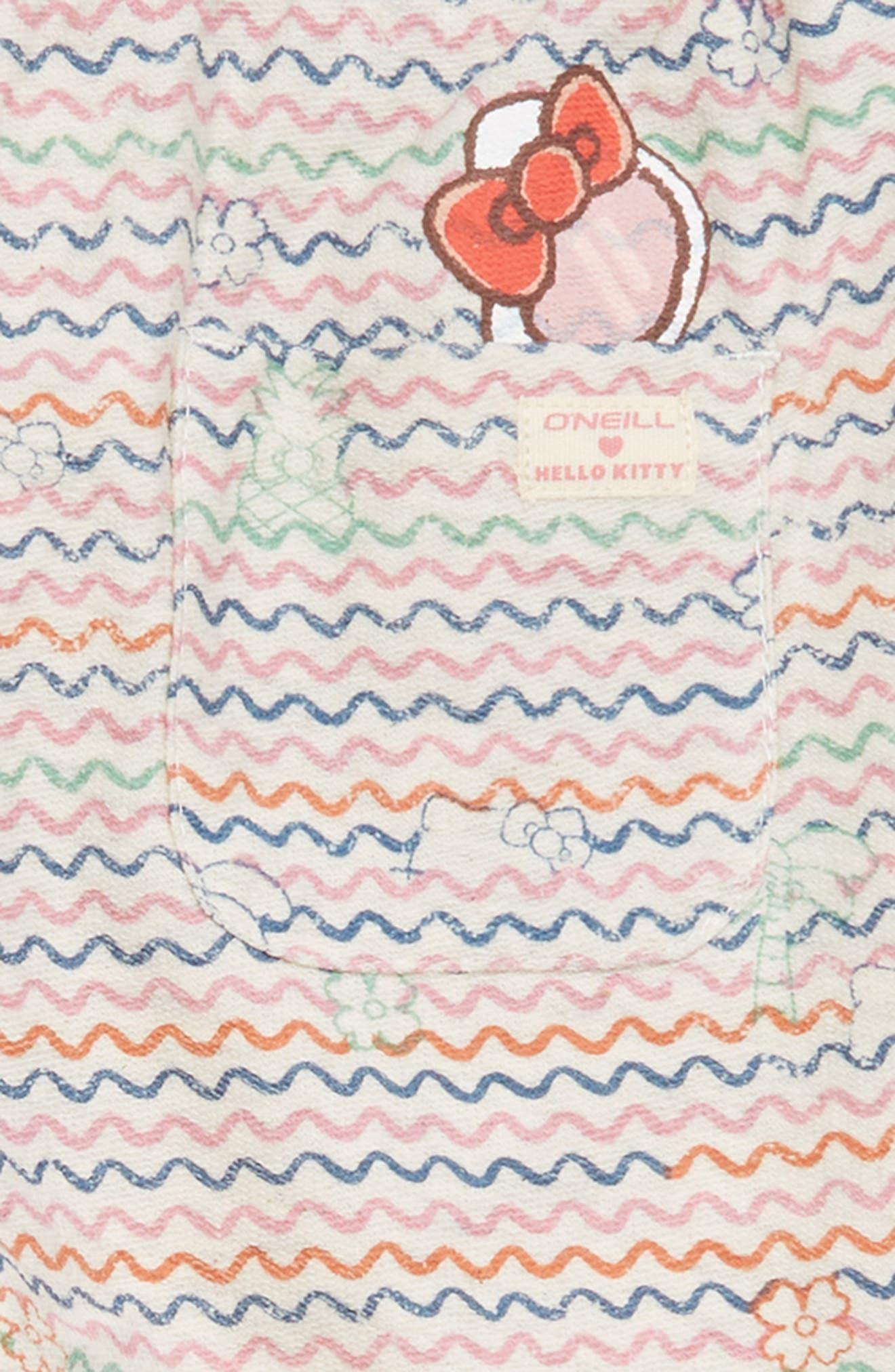 x Hello Kitty<sup>®</sup> Tropical Treasures Fleece Pants,                             Alternate thumbnail 5, color,                             250