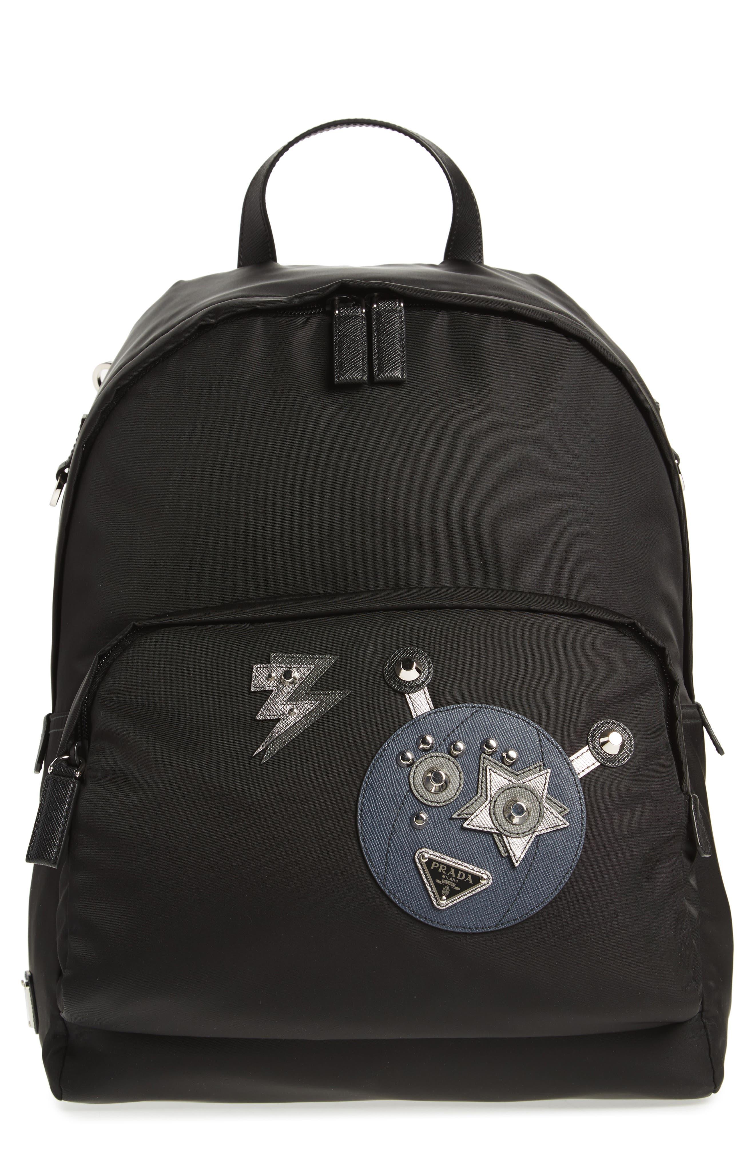 Robot Backpack,                             Main thumbnail 1, color,                             907