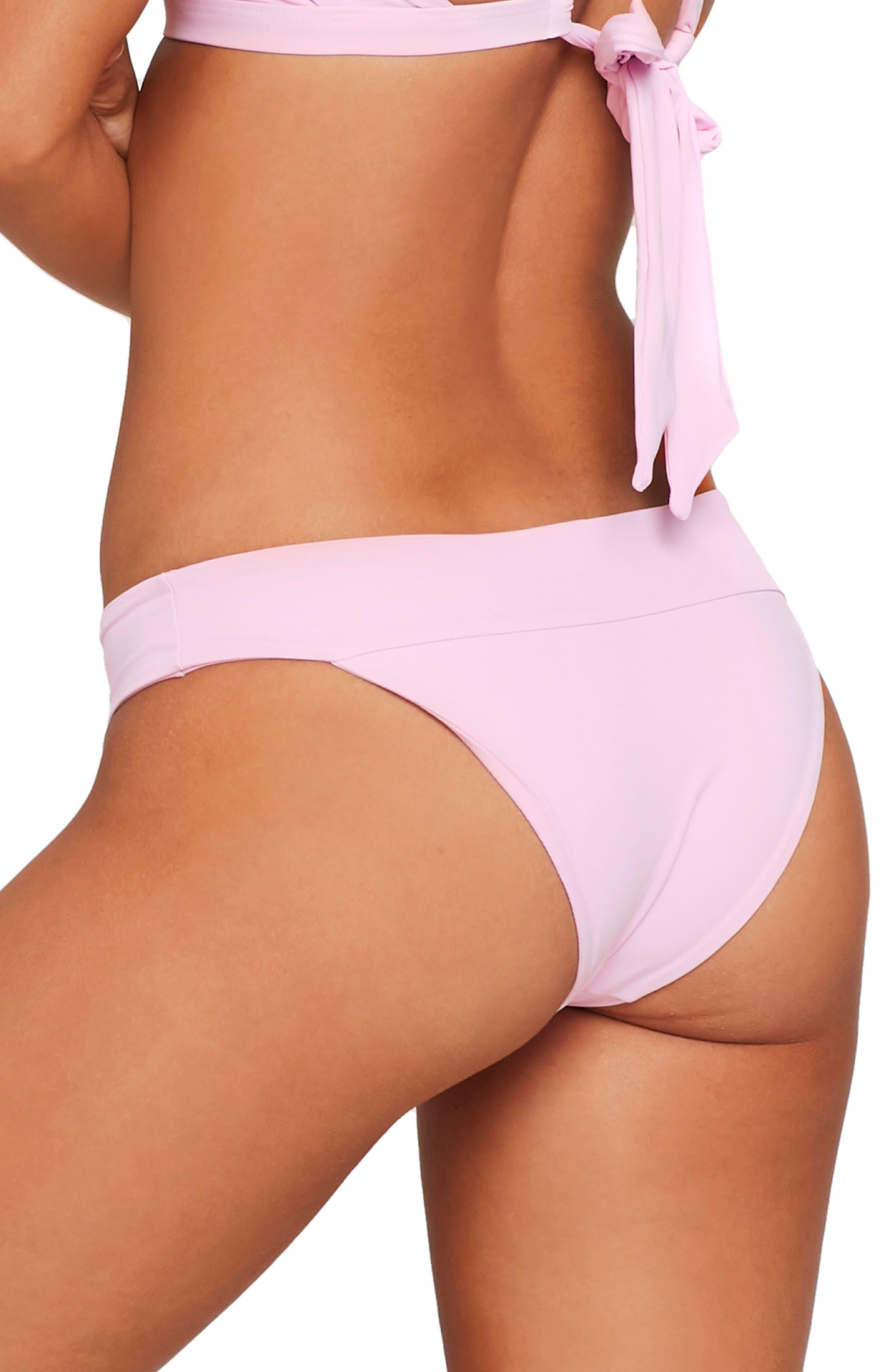 L SPACE,                             Veronica Classic Bikini Bottoms,                             Alternate thumbnail 2, color,                             LAVENDER