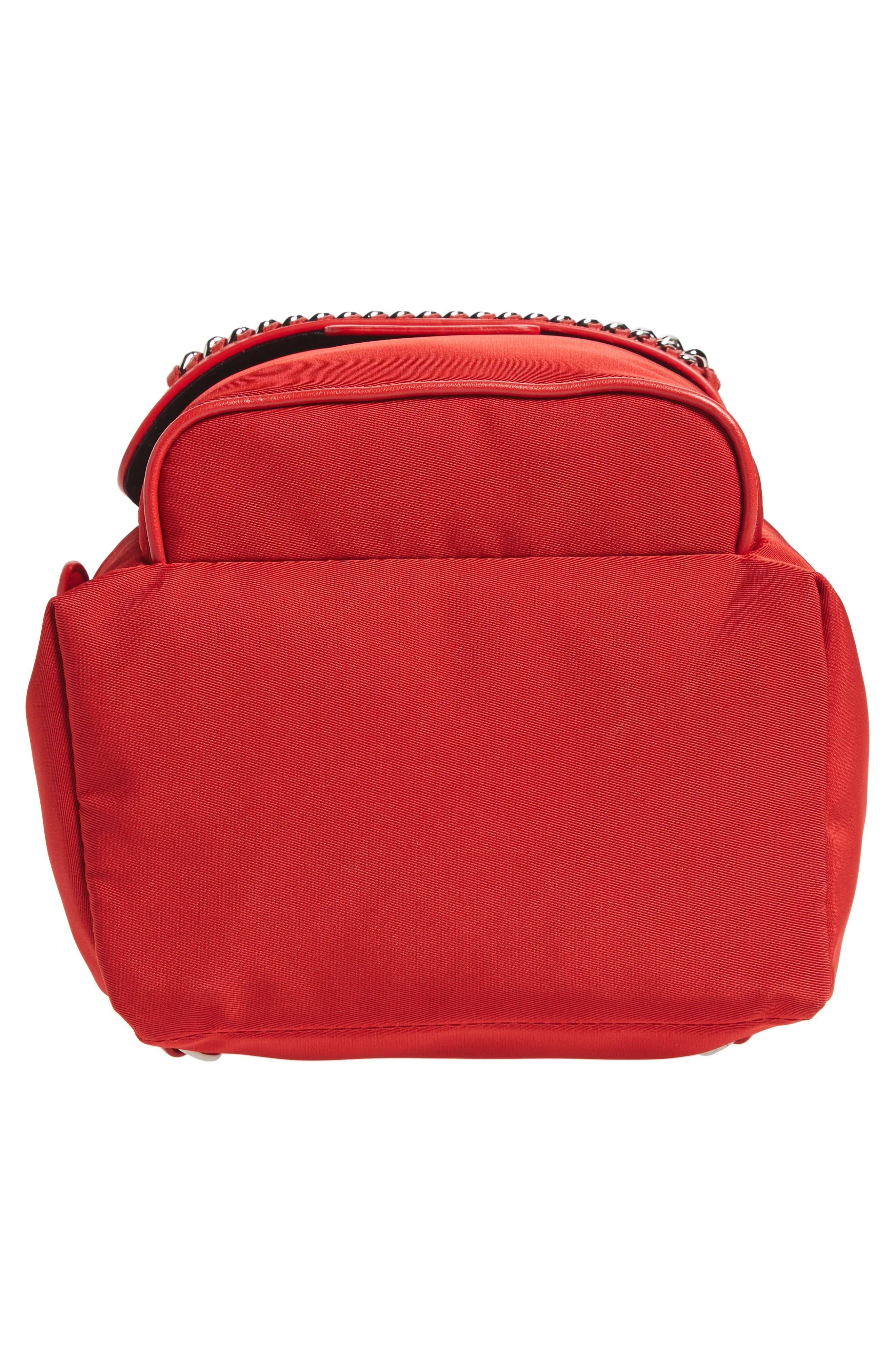 Mini Falabella Nylon Backpack,                             Alternate thumbnail 12, color,