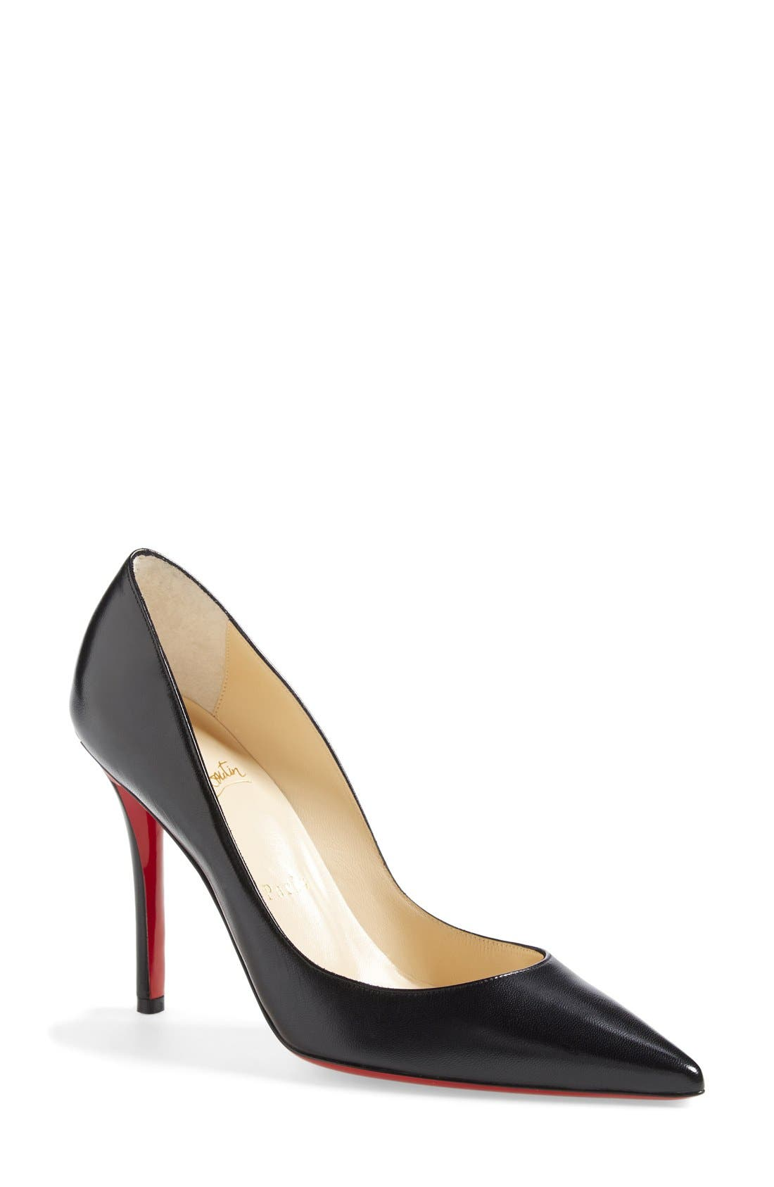 'Apostrophy' Pointy Toe Pump,                             Main thumbnail 2, color,