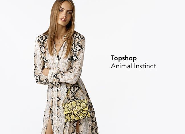Topshop: Animal Prints. Topshop clothing.