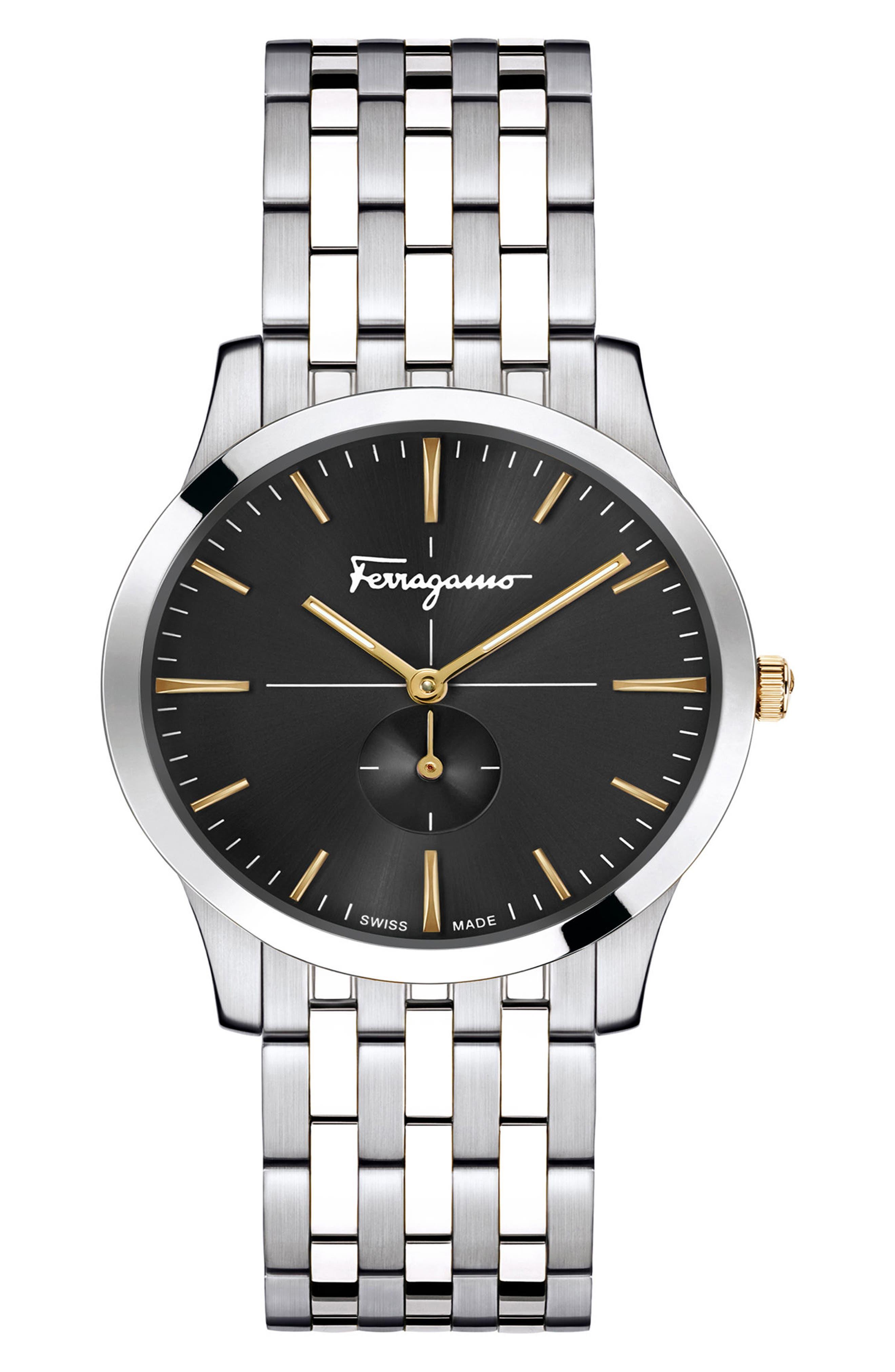Slim Formal Bracelet Watch, 35mm,                         Main,                         color, 040