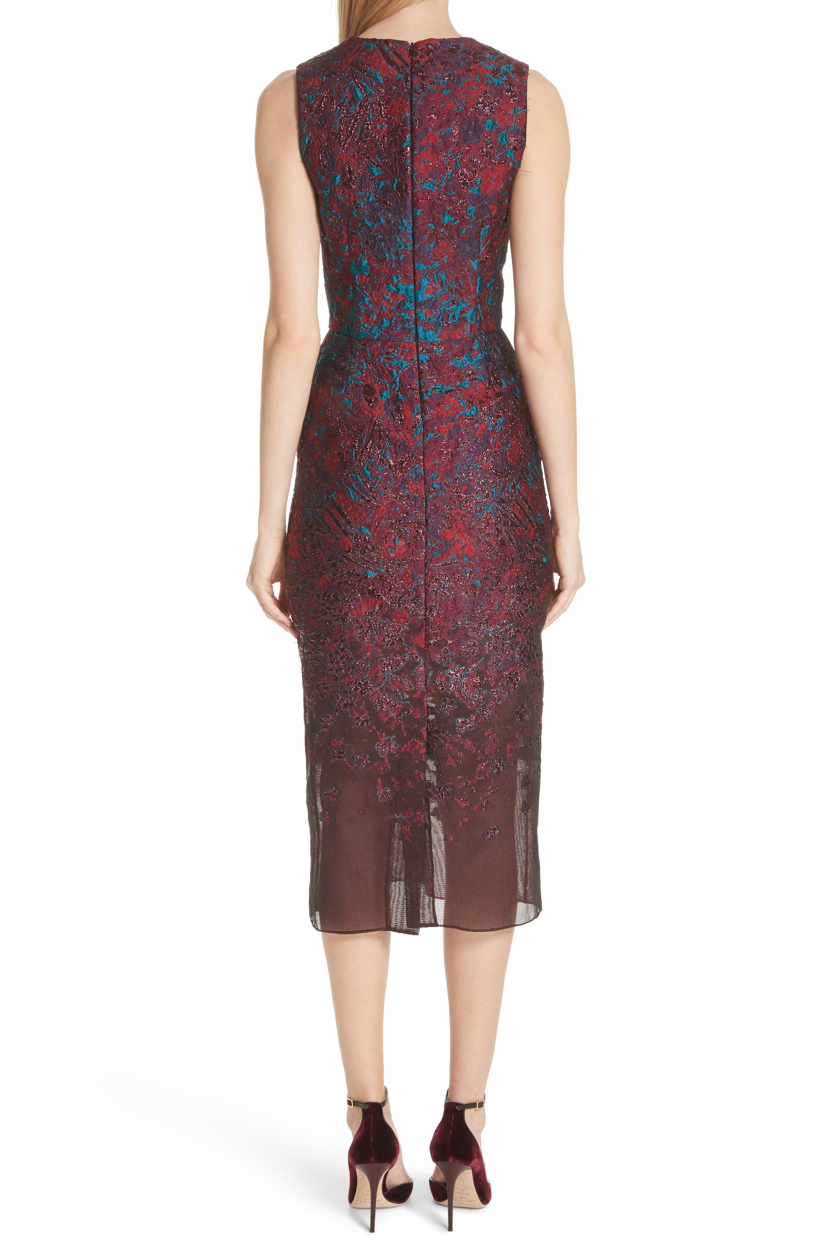 MALENE ODDERSHEDE BACH,                             May Cocktail Dress,                             Alternate thumbnail 2, color,                             600
