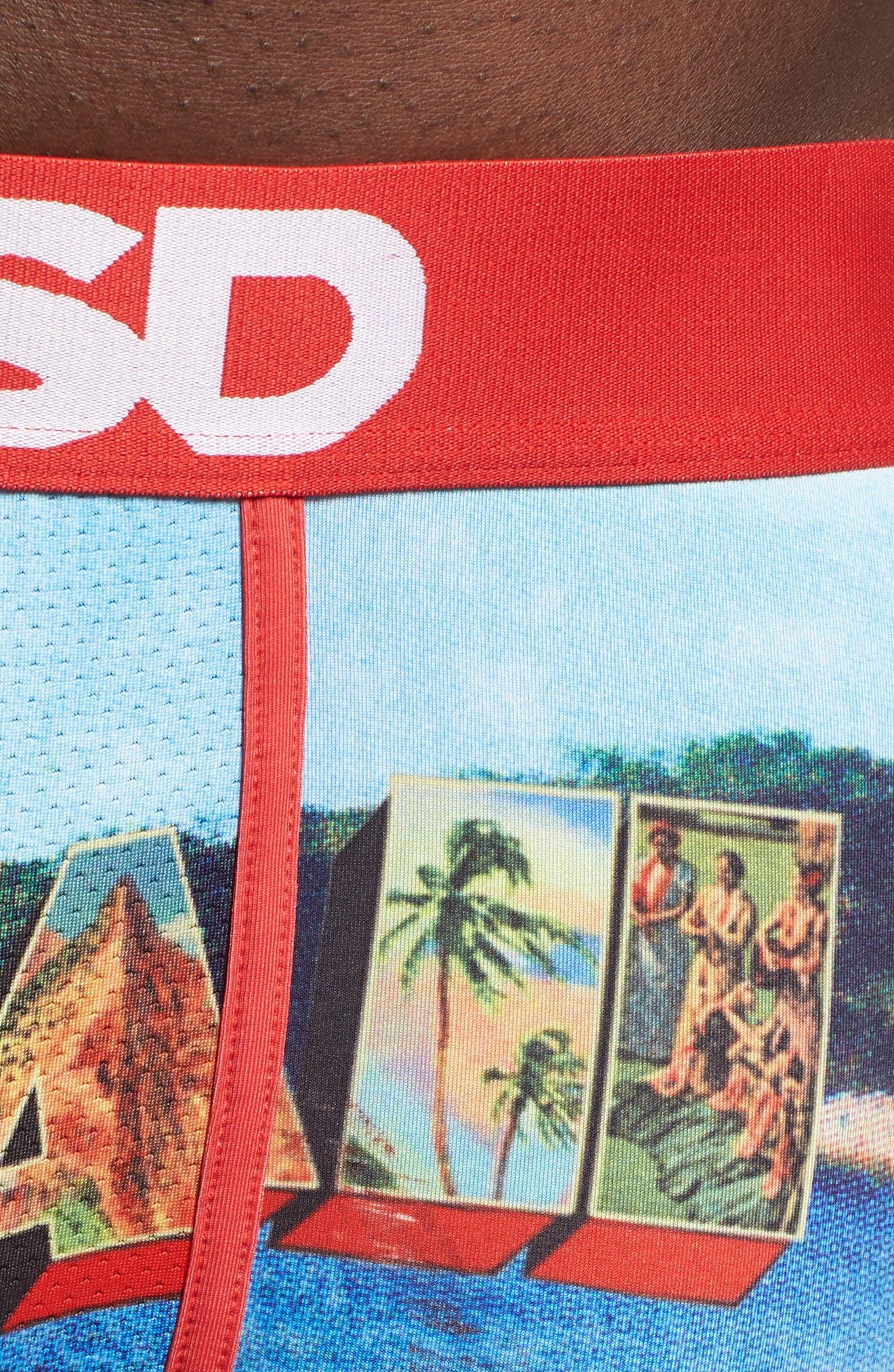 PSD,                             Aloha Boxer Briefs,                             Alternate thumbnail 4, color,                             800