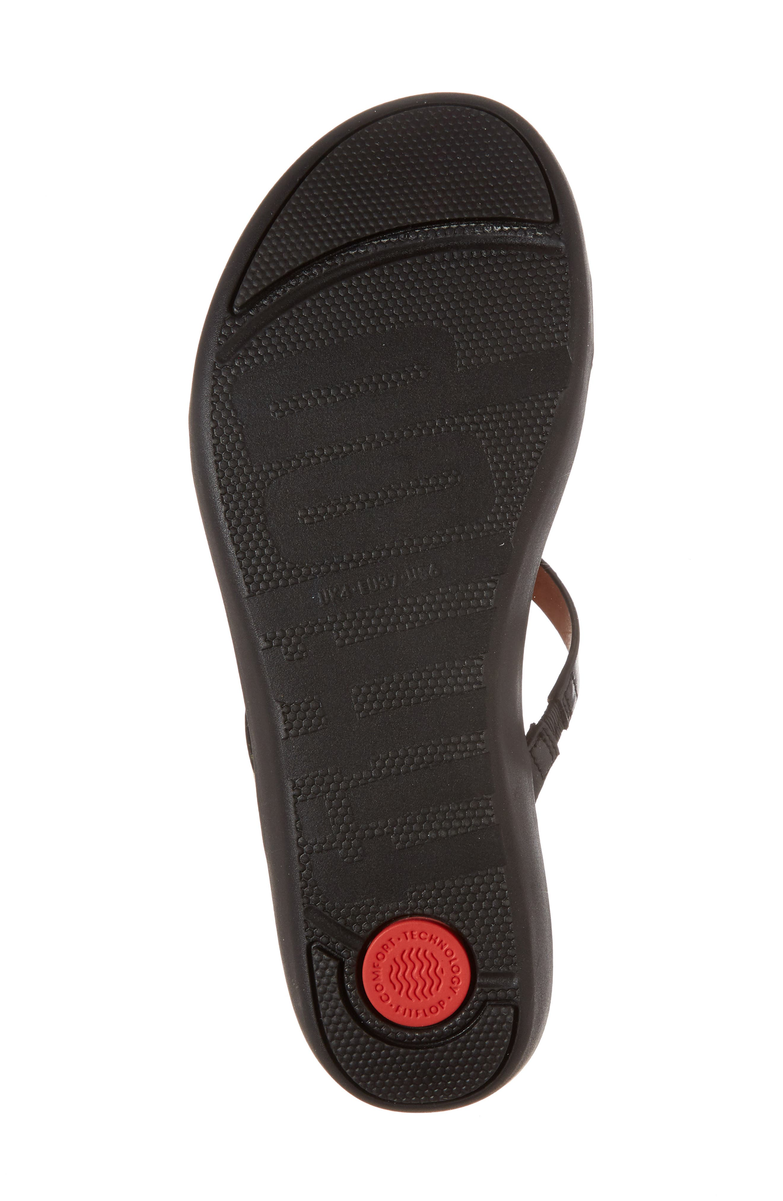 FITFLOP,                             Strata Slide Sandals,                             Alternate thumbnail 6, color,                             001