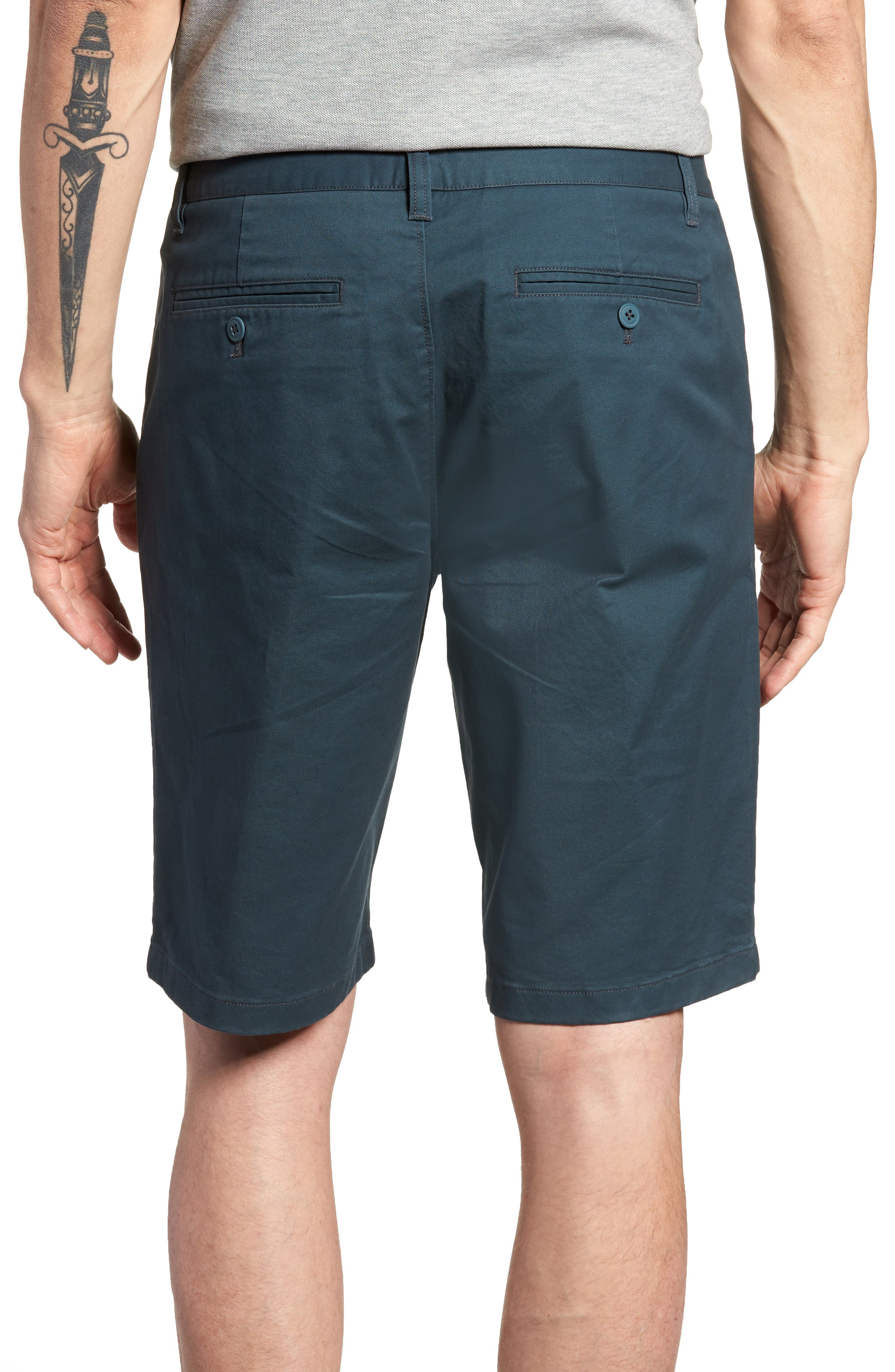 Stretch Washed Chino 11-Inch Shorts,                             Alternate thumbnail 26, color,