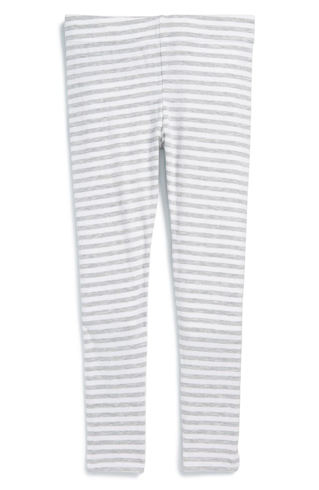 'Core' Striped Leggings,                             Main thumbnail 6, color,