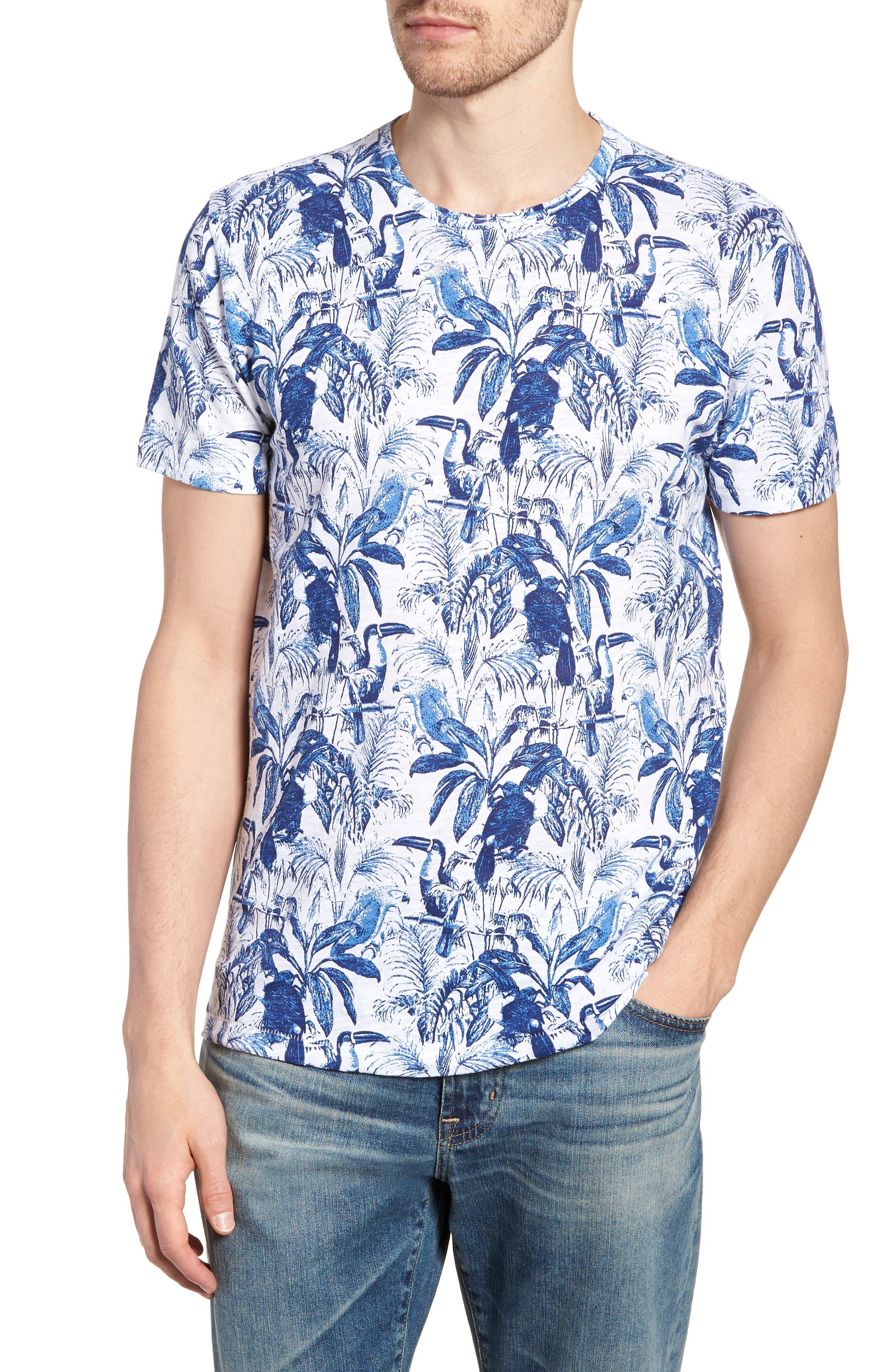 Print T-Shirt,                             Main thumbnail 1, color,