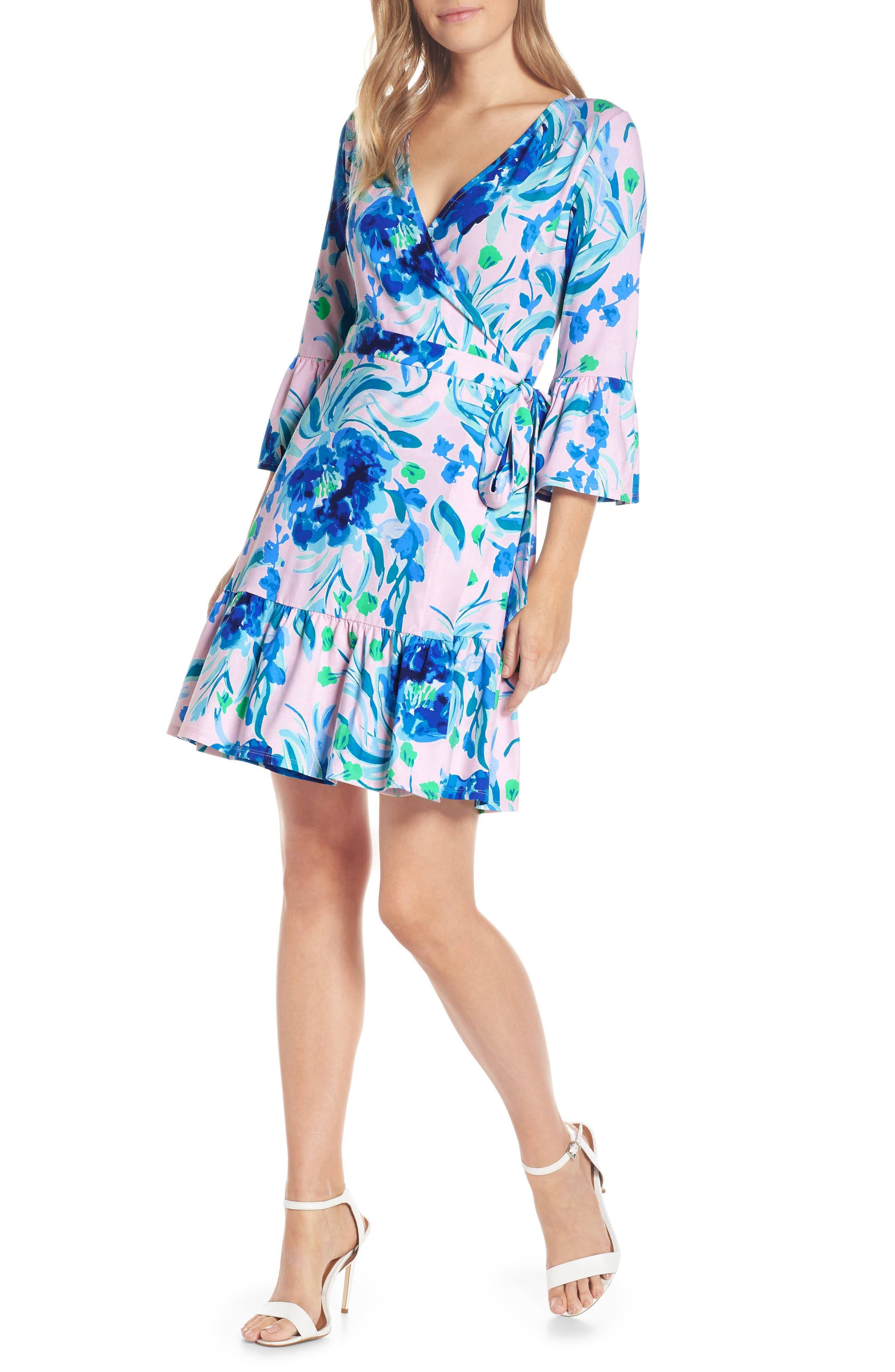 Lilly Pulitzer Misha Wrap Dress, Pink